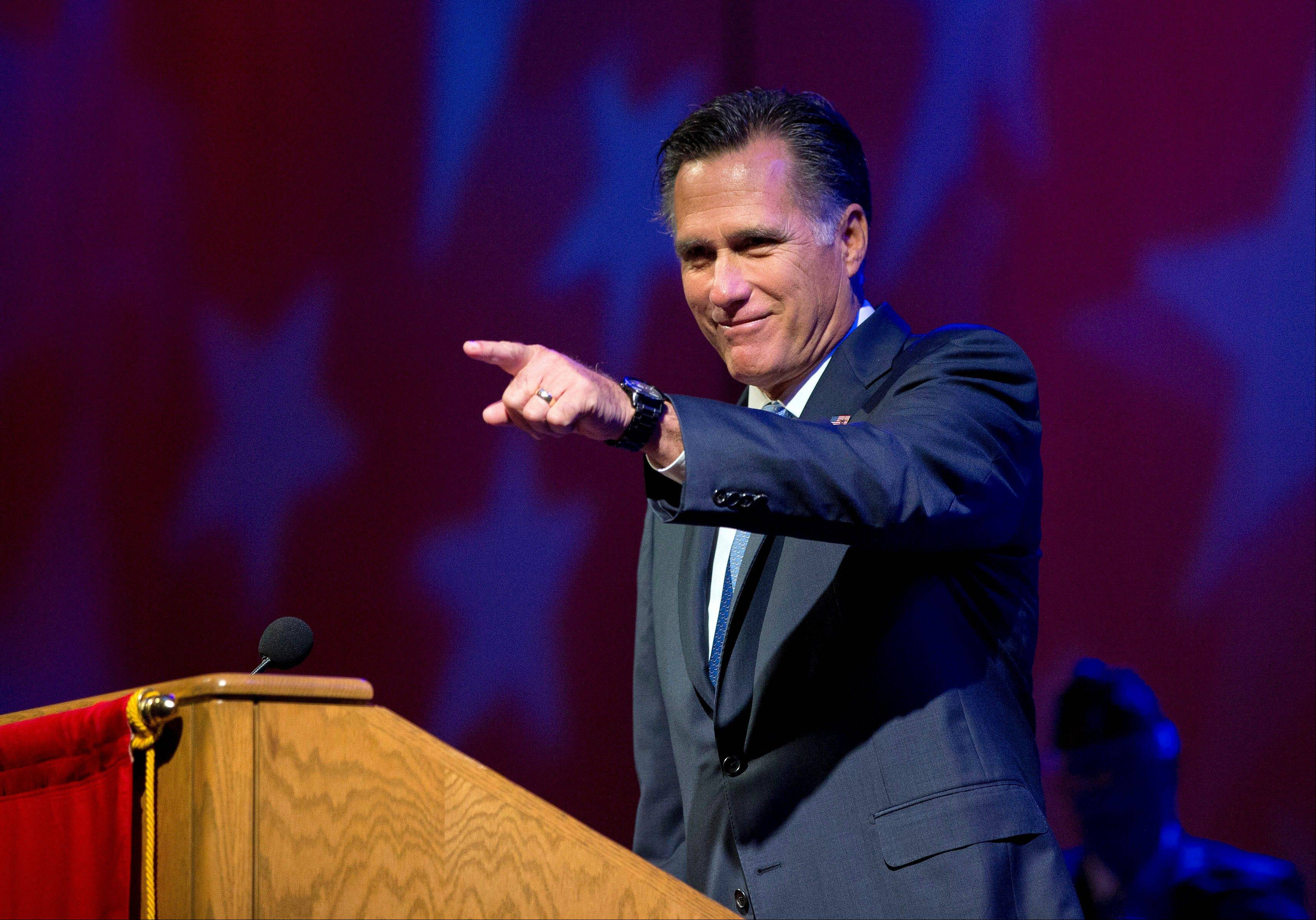 Republican presidential candidate, former Massachusetts Gov. Mitt Romney will make his case to the nation about why he should be elected president -- and why he thinks President Barack Obama should be sent packing.
