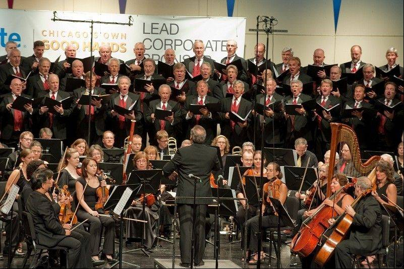 "The Northbrook Symphony Orchestra and the New Tradition Chorus will join forces 4 p.m. Sunday, Sept. 9, to present ""Glenbrook Pops"" at Glenbrook South High School, 4000 W. Lake Ave., Glenview."