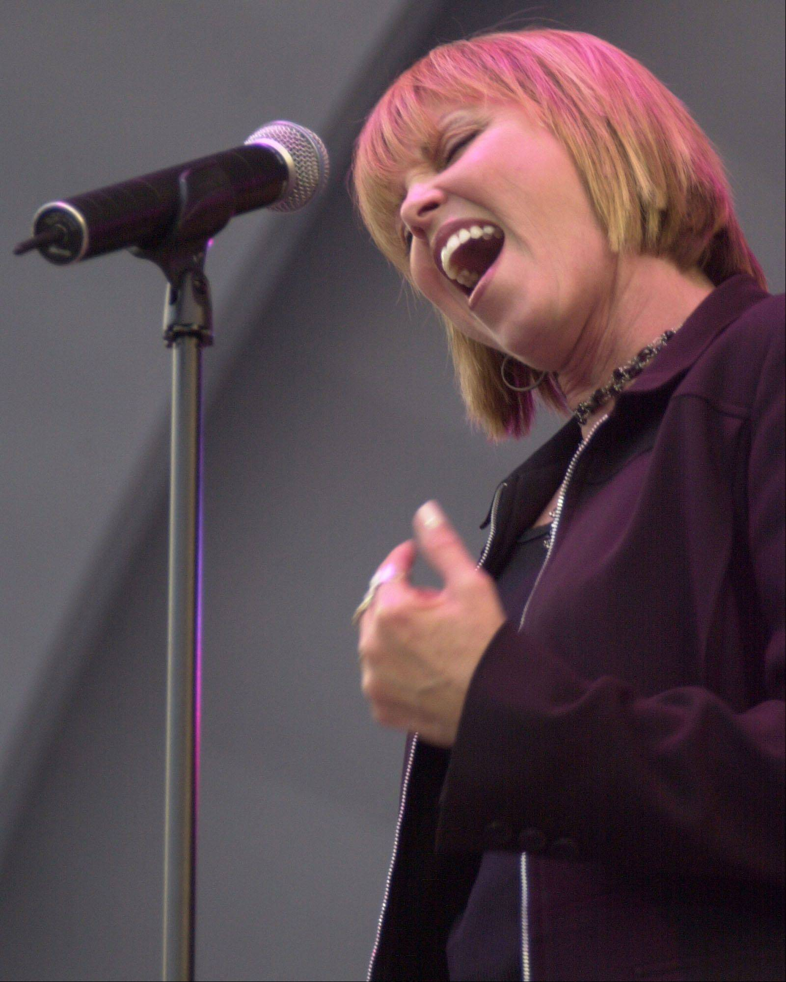Pat Benatar performs with Neil Giraldo Sunday, Sept. 2, at Naperville's Last Fling.