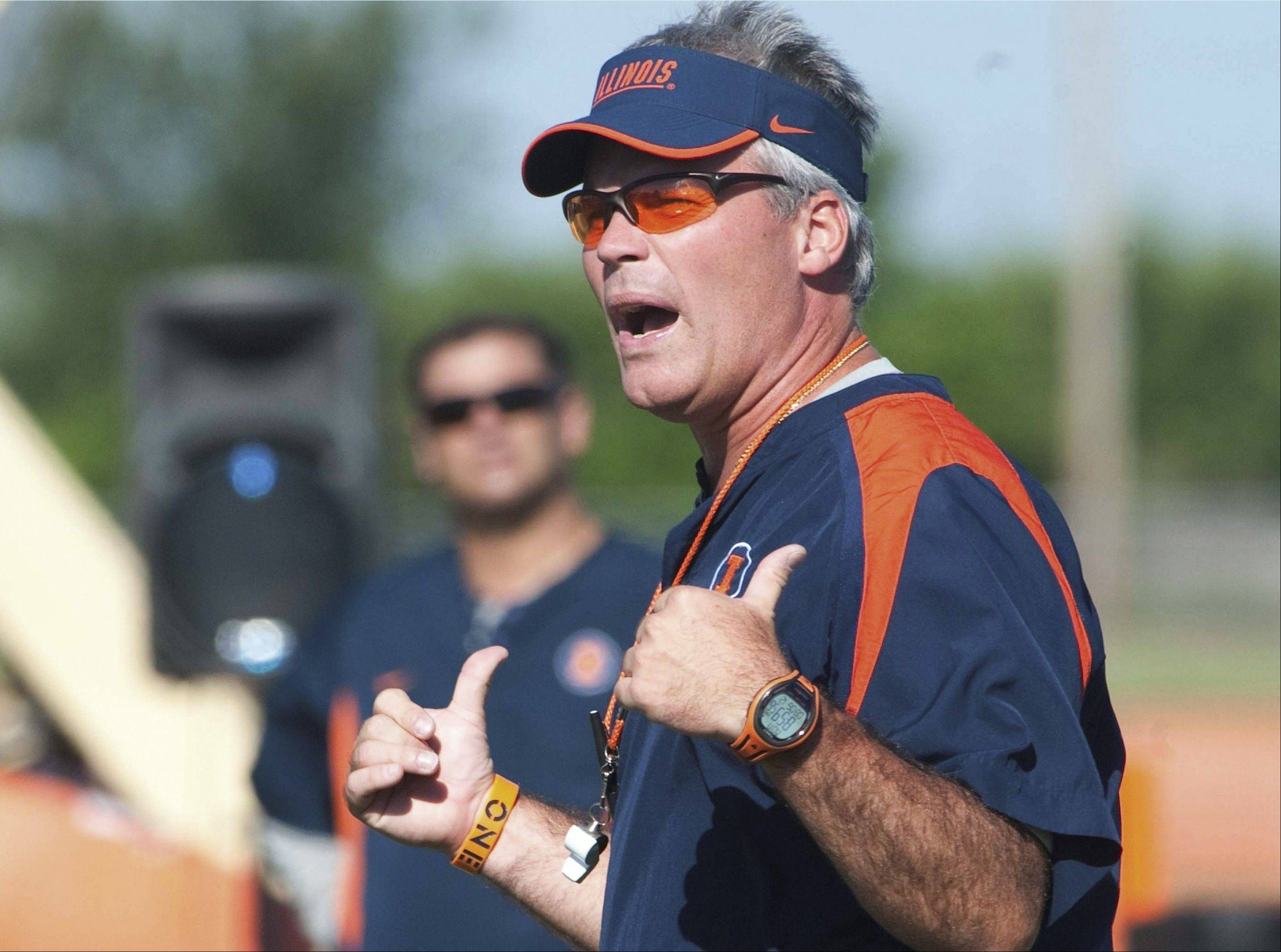 Illinois head football coach Tim Beckman's team opens the season against Western Michigan at 11 a.m. Saturday in Champaign.