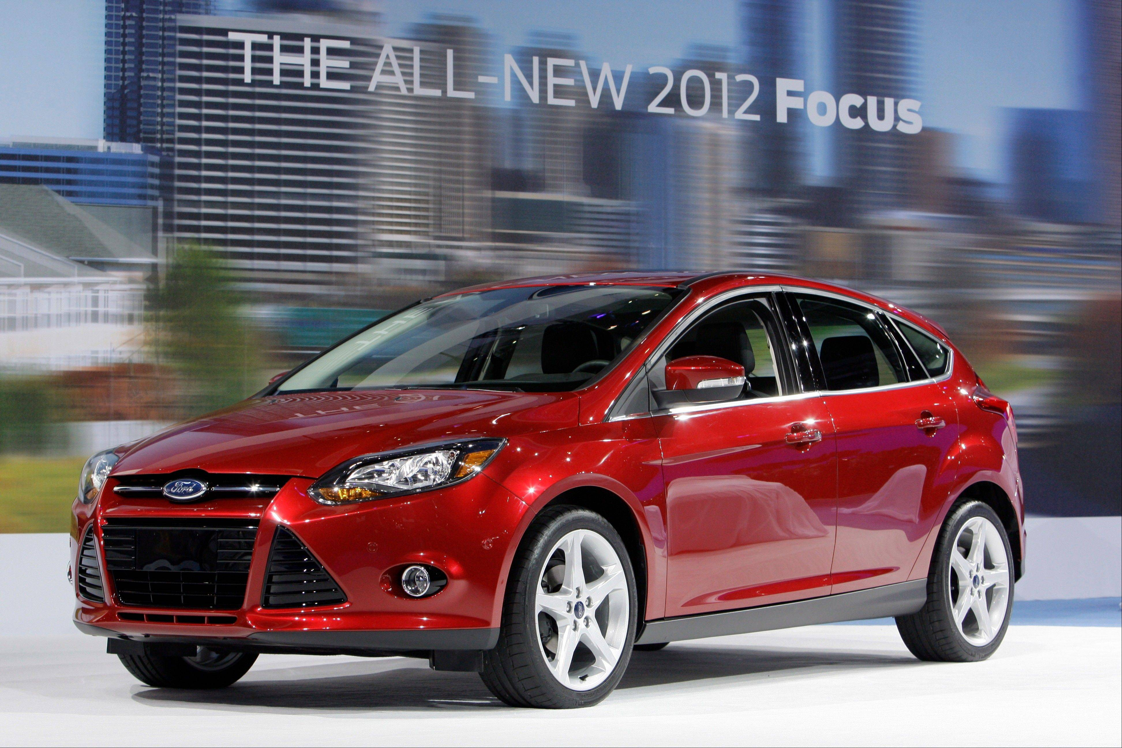 Ford Motor Co. said Friday Aug. 31, 2012 its Focus small car is on track to become the best-selling car in the world this year, trumping the Toyota Corolla.