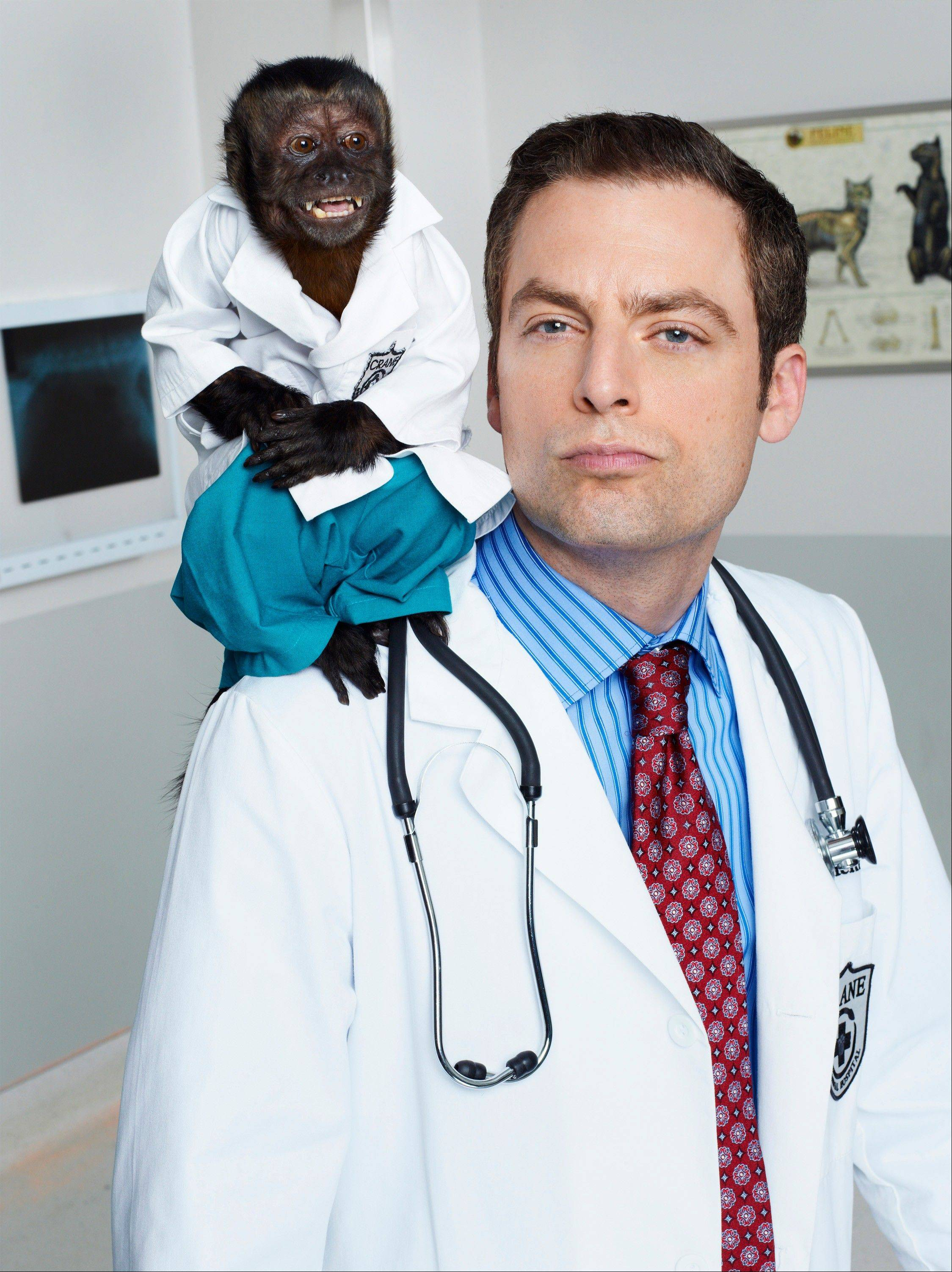 "Plenty of hype has already hit NBC's ""Animal Practice,"" starring Justin Kirk."