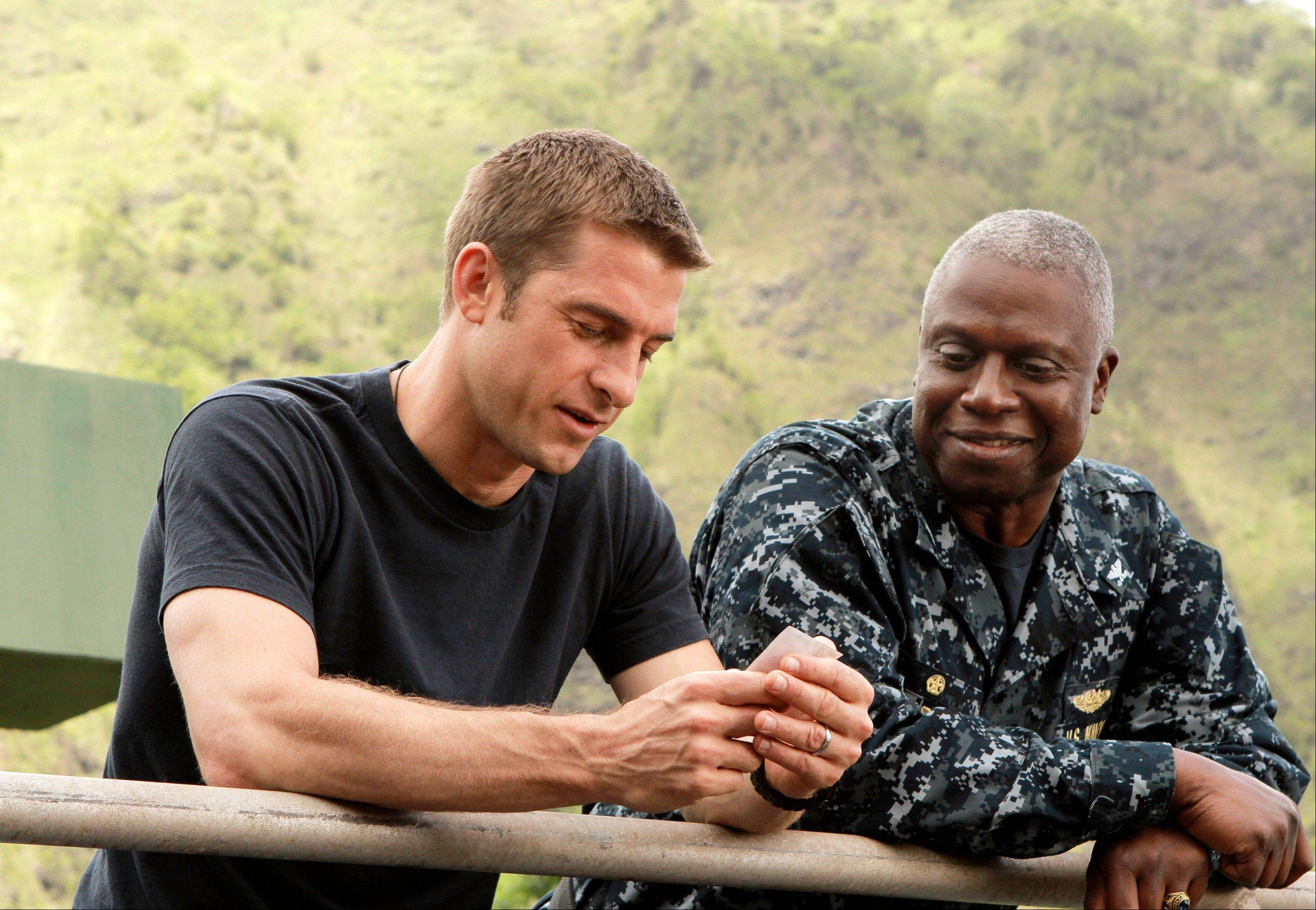 "A submarine crew isolated on an island searches for answers in ABC's ""Last Resort,"" starring Scott Speedman and Andre Braugher."