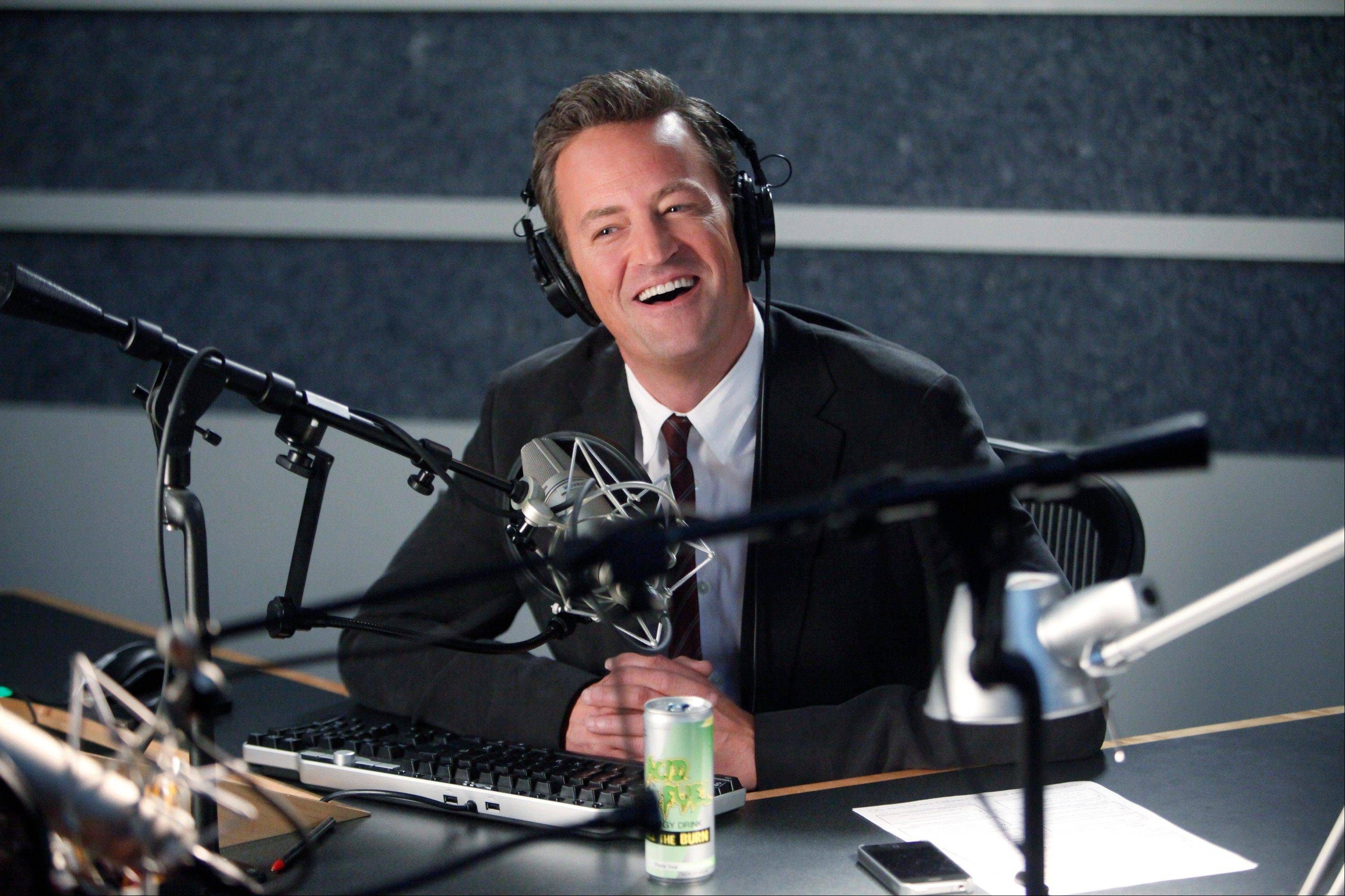 "A sports show host (Matthew Perry) is forced into grief counseling in NBC's ""Go On."""