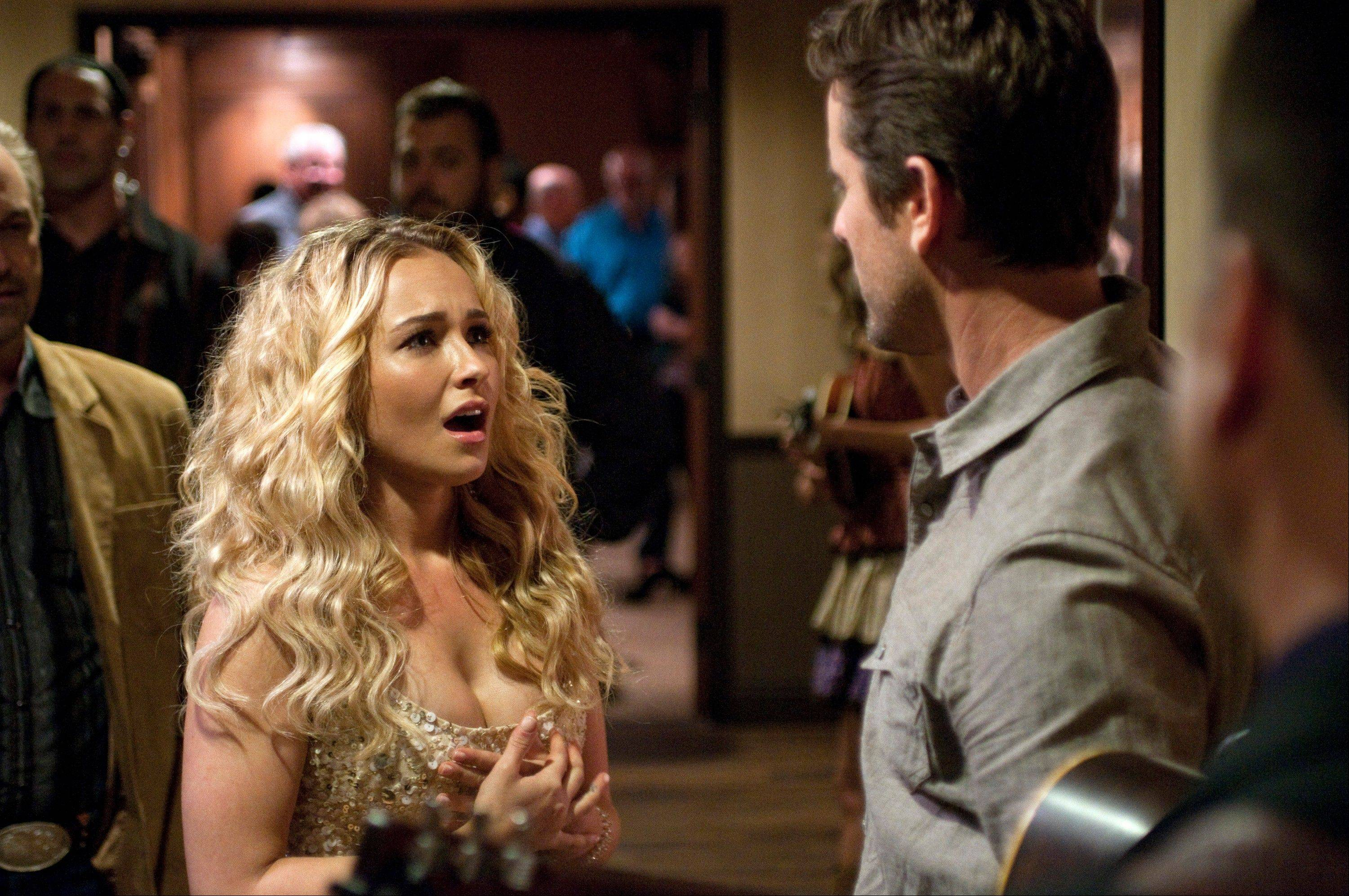 "Juliette (Hayden Panettiere) fights to find a place on the country music charts in ABC's ""Nashville."""