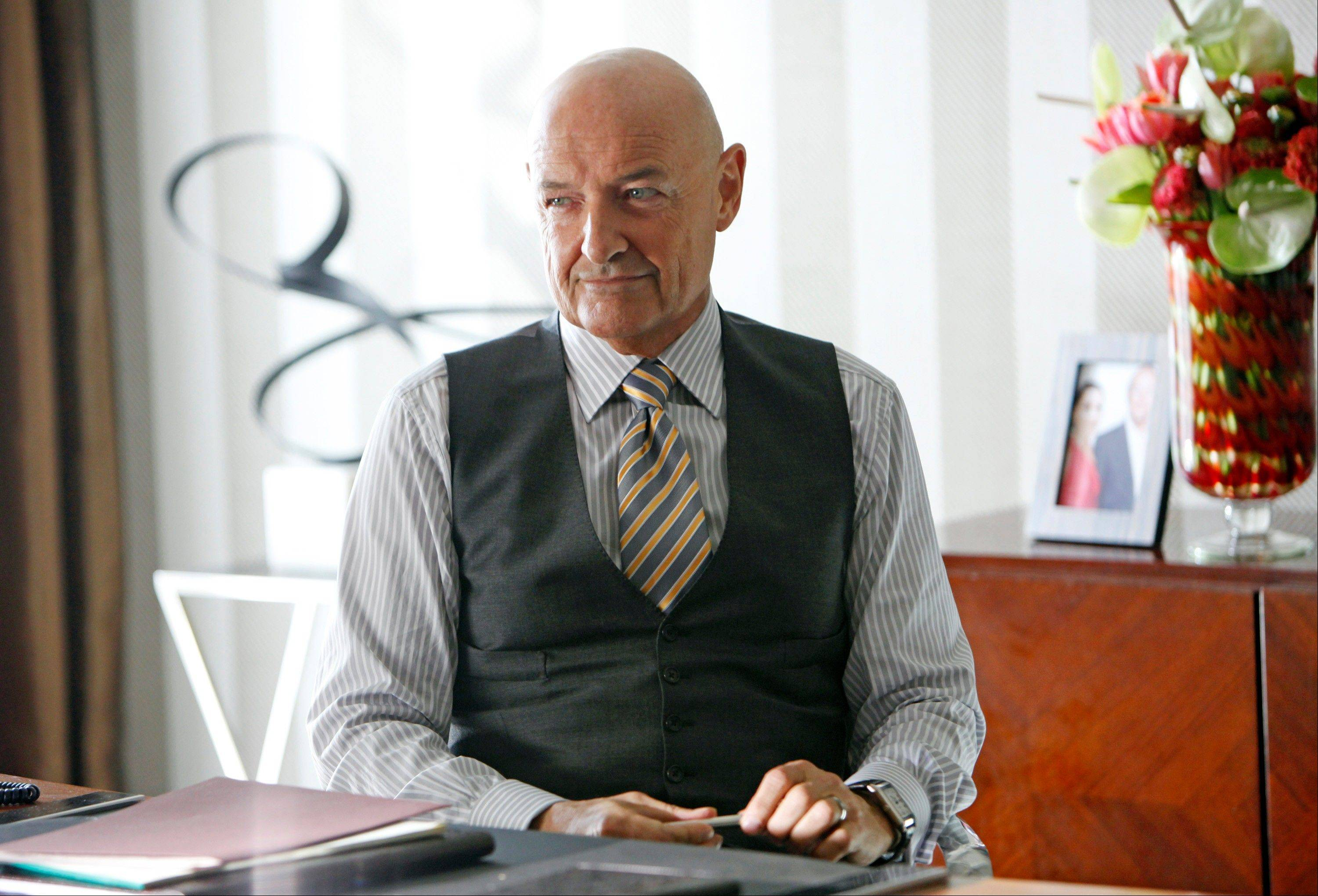"Devilish fun awaits as Gavin Doran (Terry O'Quinn) exacts a steep price from tenants in ABC's ""666 Park Avenue."""