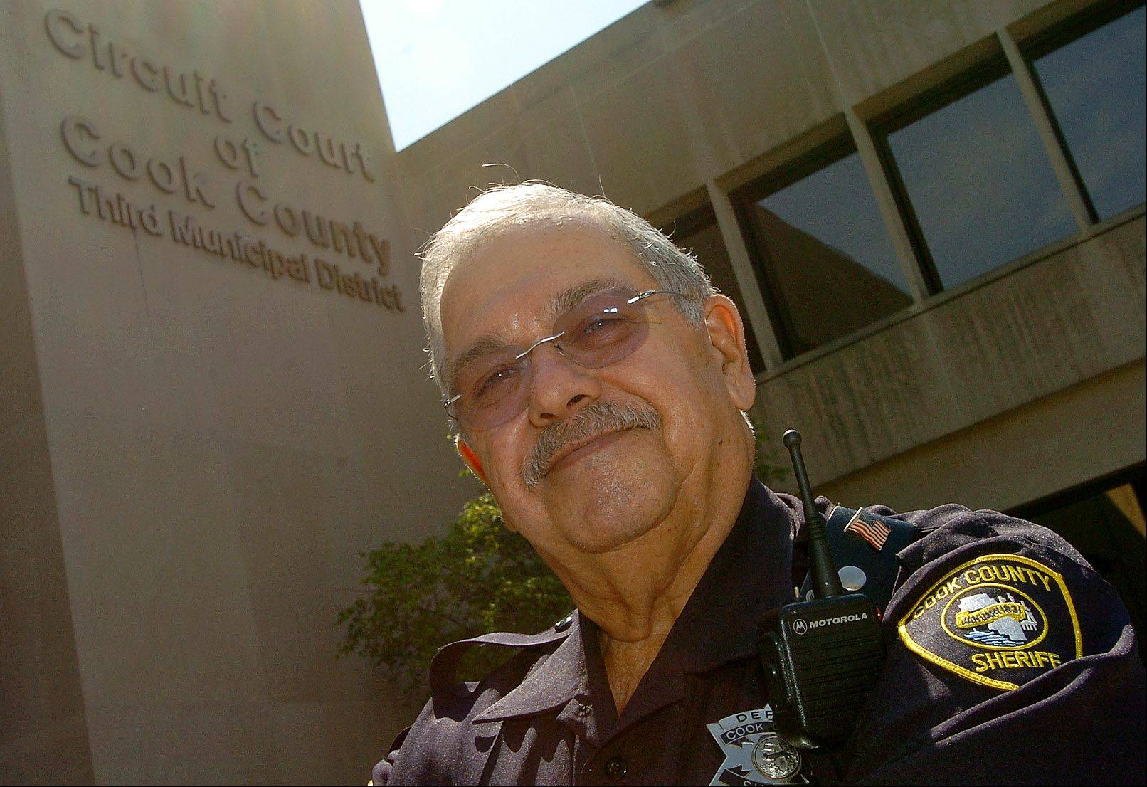 Arlington Heights resident and newly retired Cook County Sheriff's Deputy Stan Schultz plans to spend his second retirement fishing and working on projects around the house.