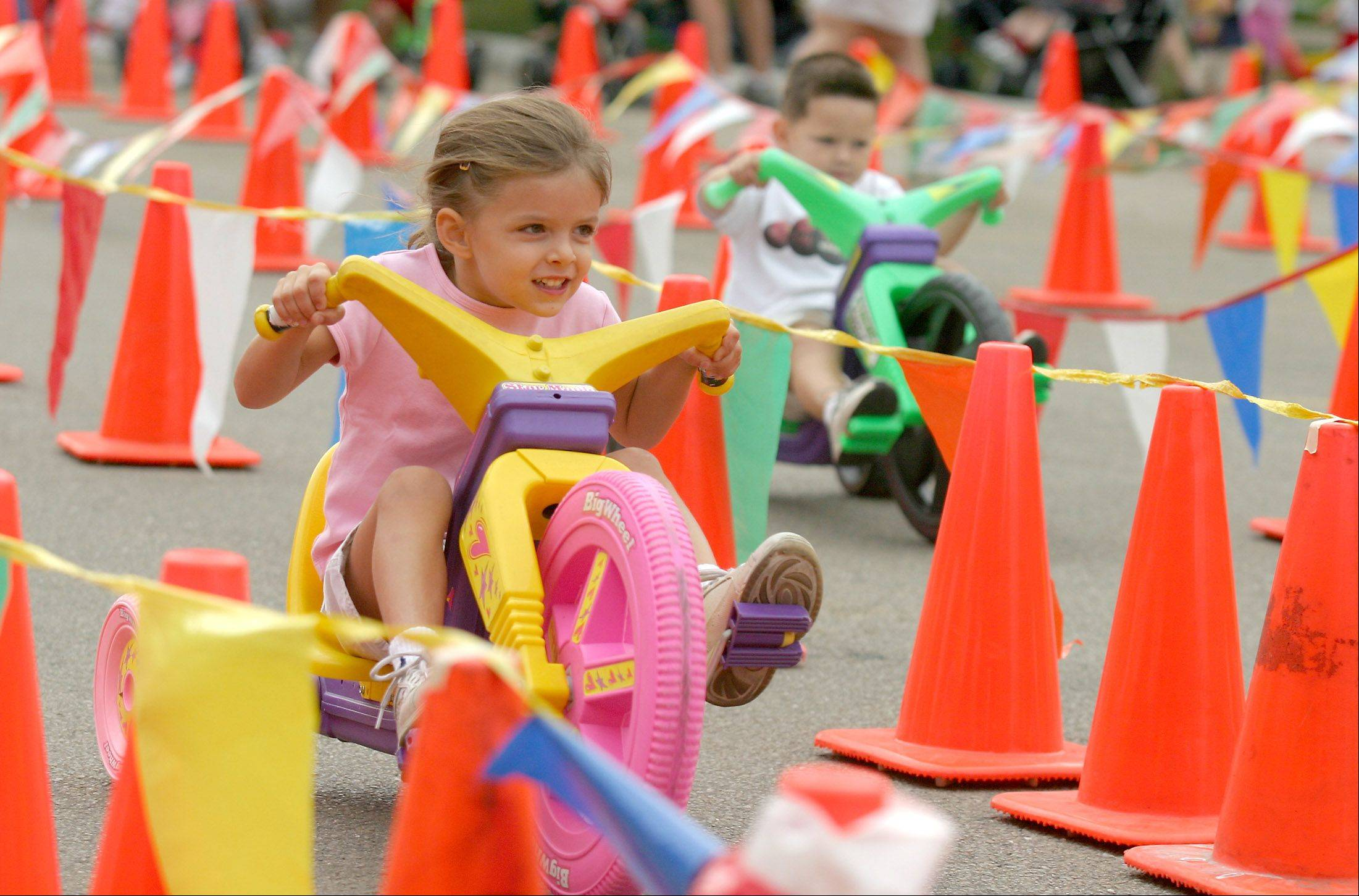 Last Fling's lineup of special events includes a Big Wheel race.