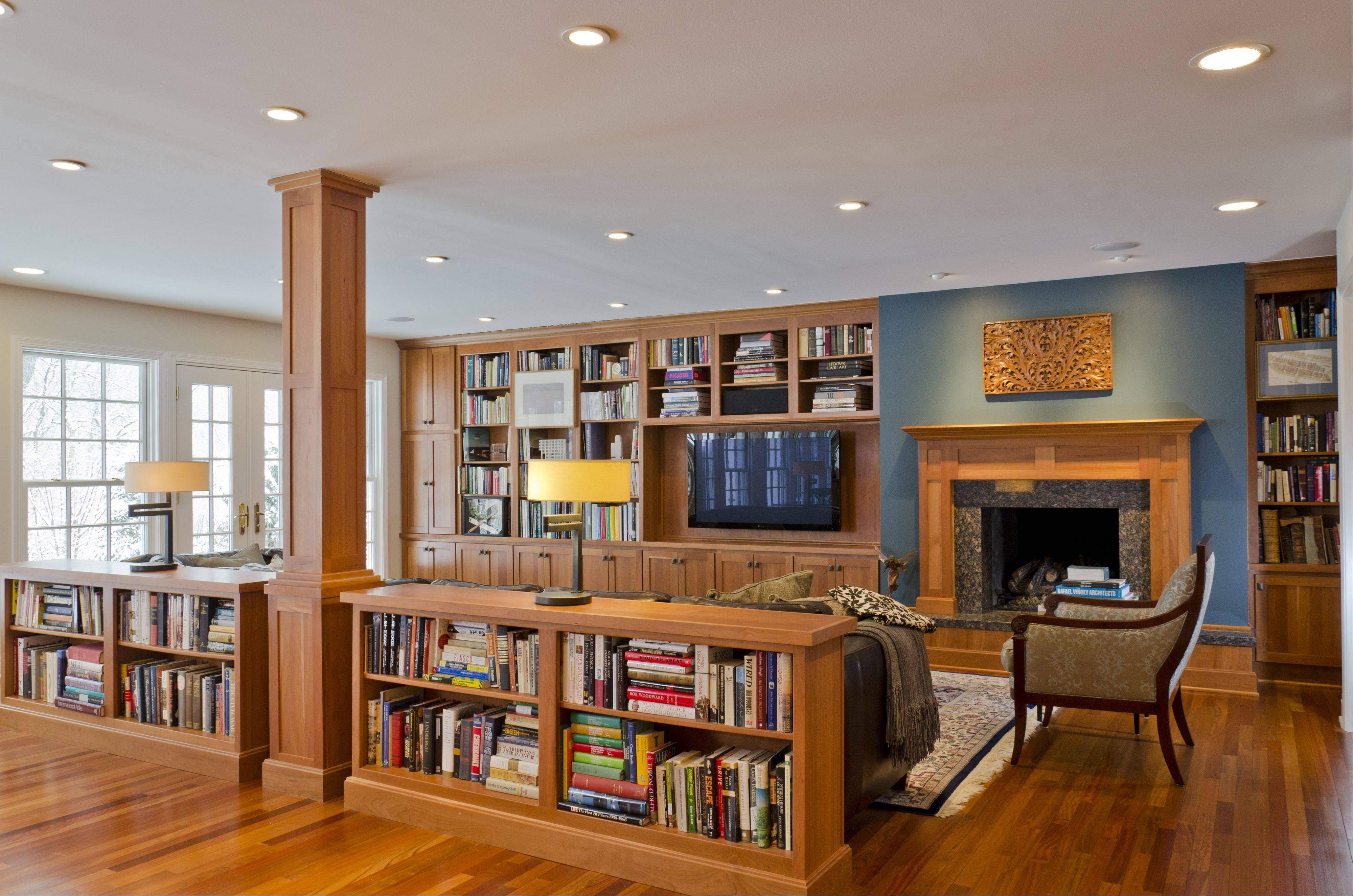 Bradford and Kent constructed this family room addition onto an existing home.