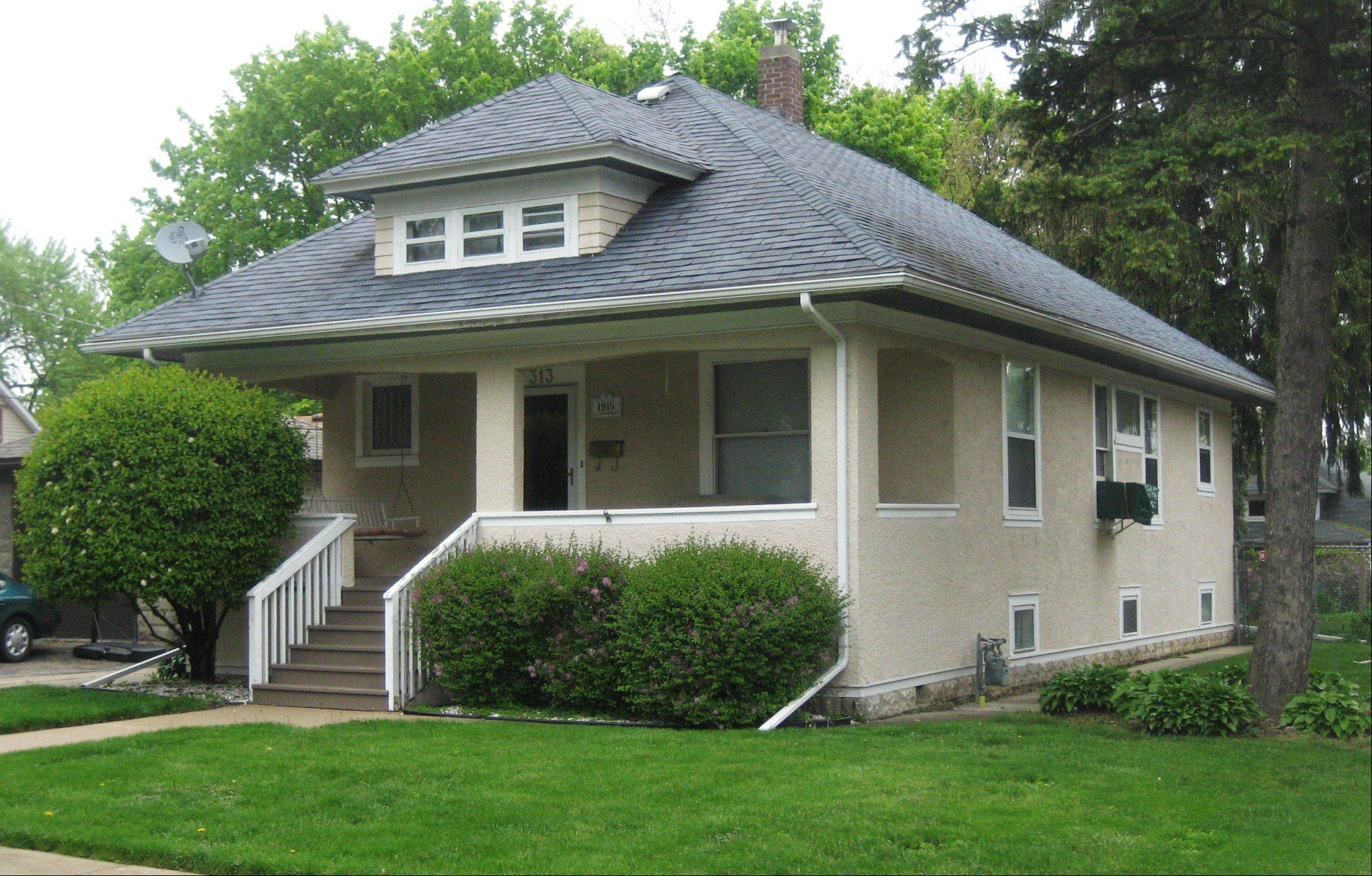 This house at 313 Perry St. will be on this year's Historic Elgin House Tour.