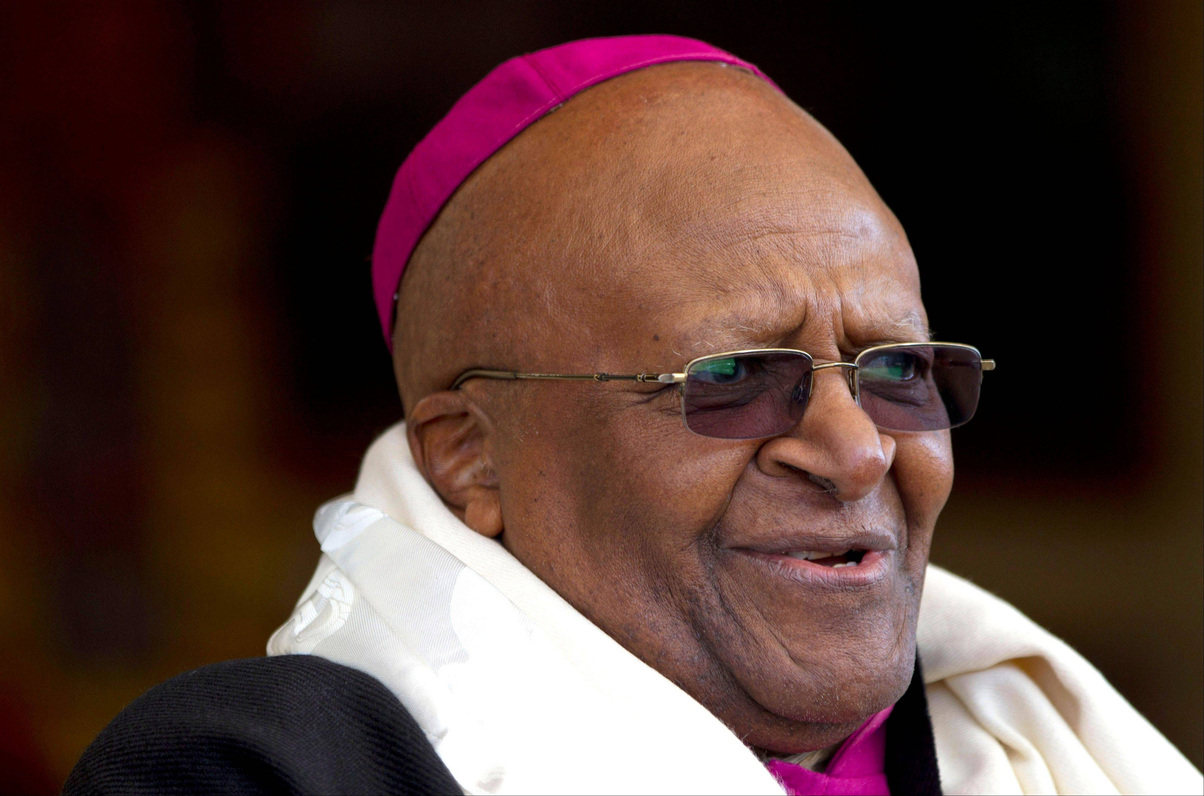 Archbishop Desmond Tutu in an op-ed piece in the Observer Sunday Sept. 2, 2012 has called for Tony Blair and George Bush to be hauled before an international criminal court and delivered a damning critique of the physical and moral devastation caused by the Iraq war.