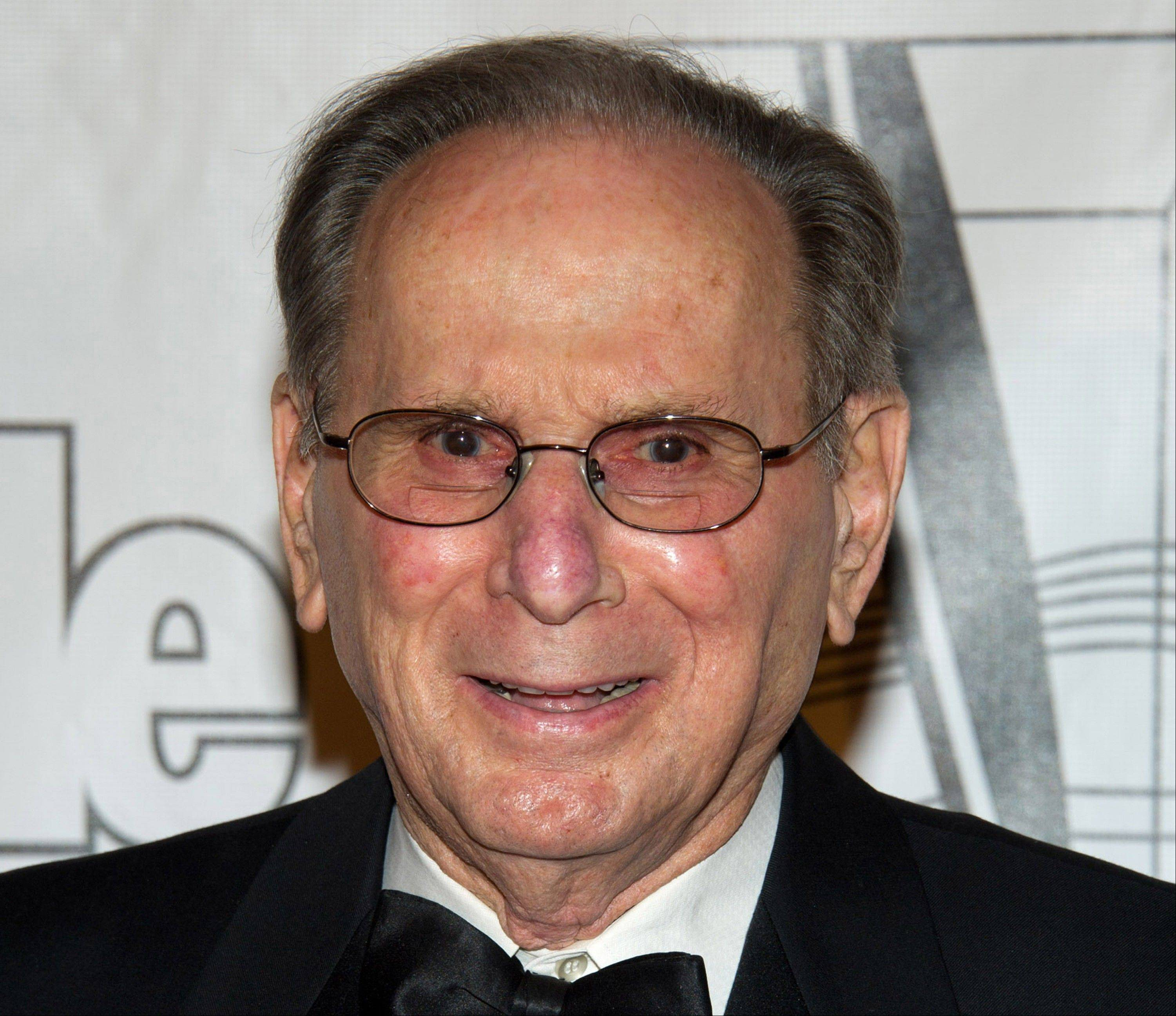In this June 16, 2011 file photo, Hal David arrives at the 42nd Annual Songwriters Hall of Fame Awards in New York.