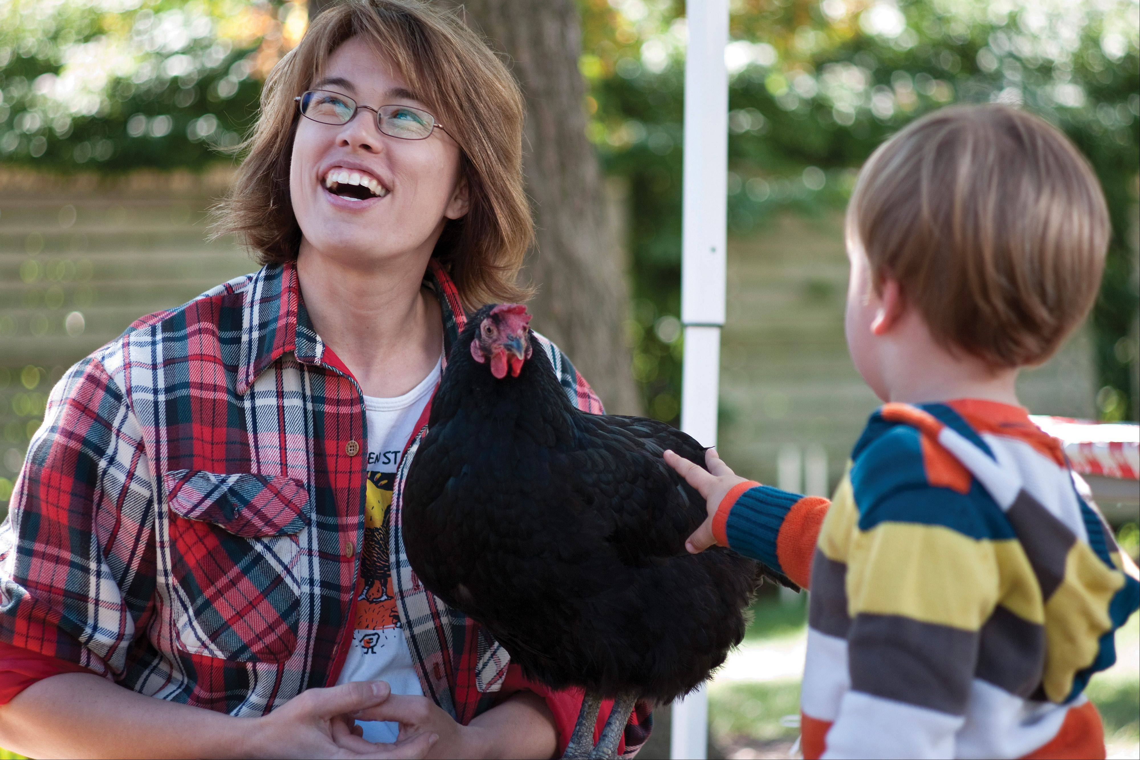 Children can learn all about the harvest at Garfield Park Conservatory's Harvest Days.