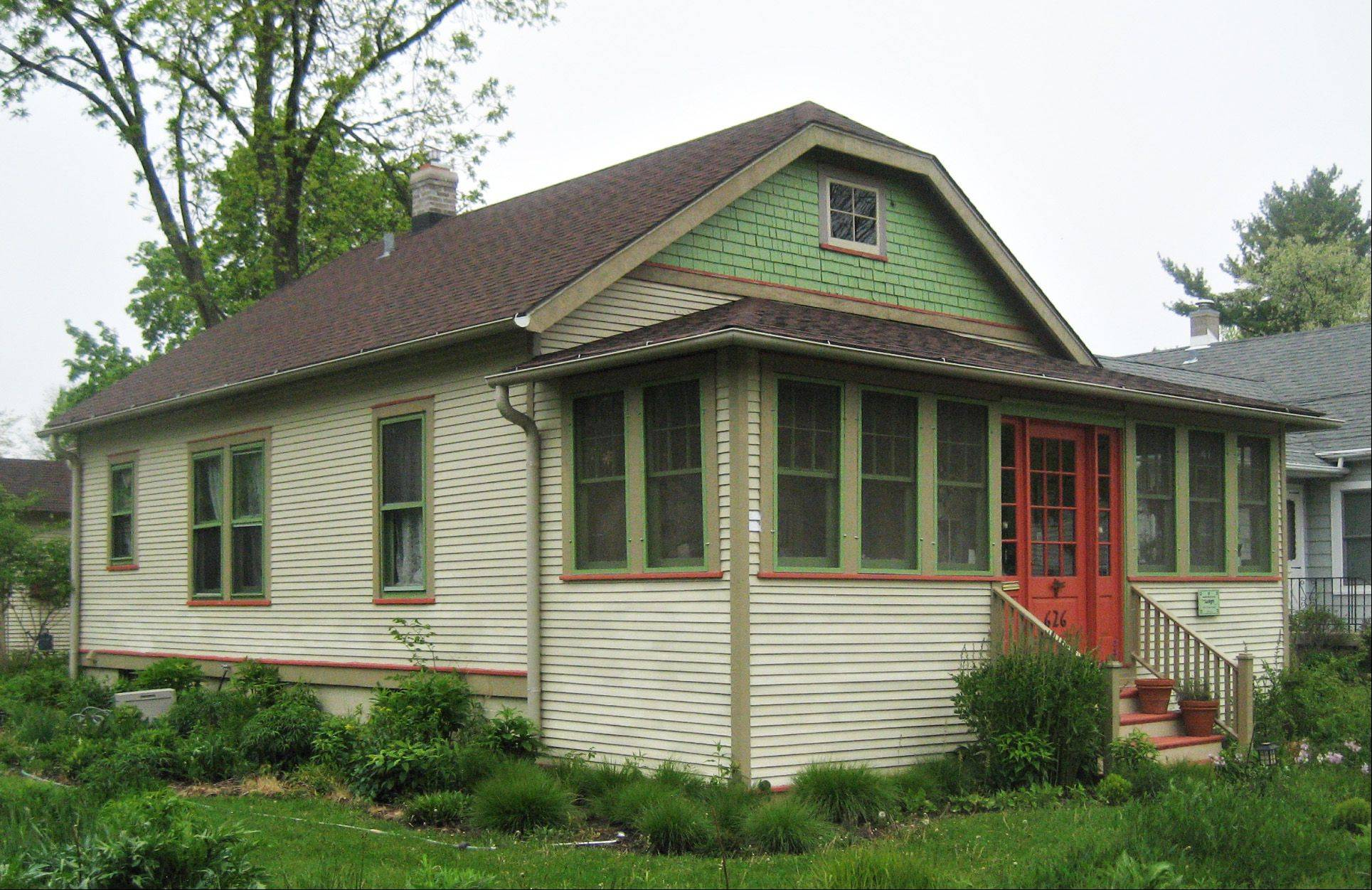 This house at 626 Orange Street will be on the 2012 Historic Elgin House Tour.
