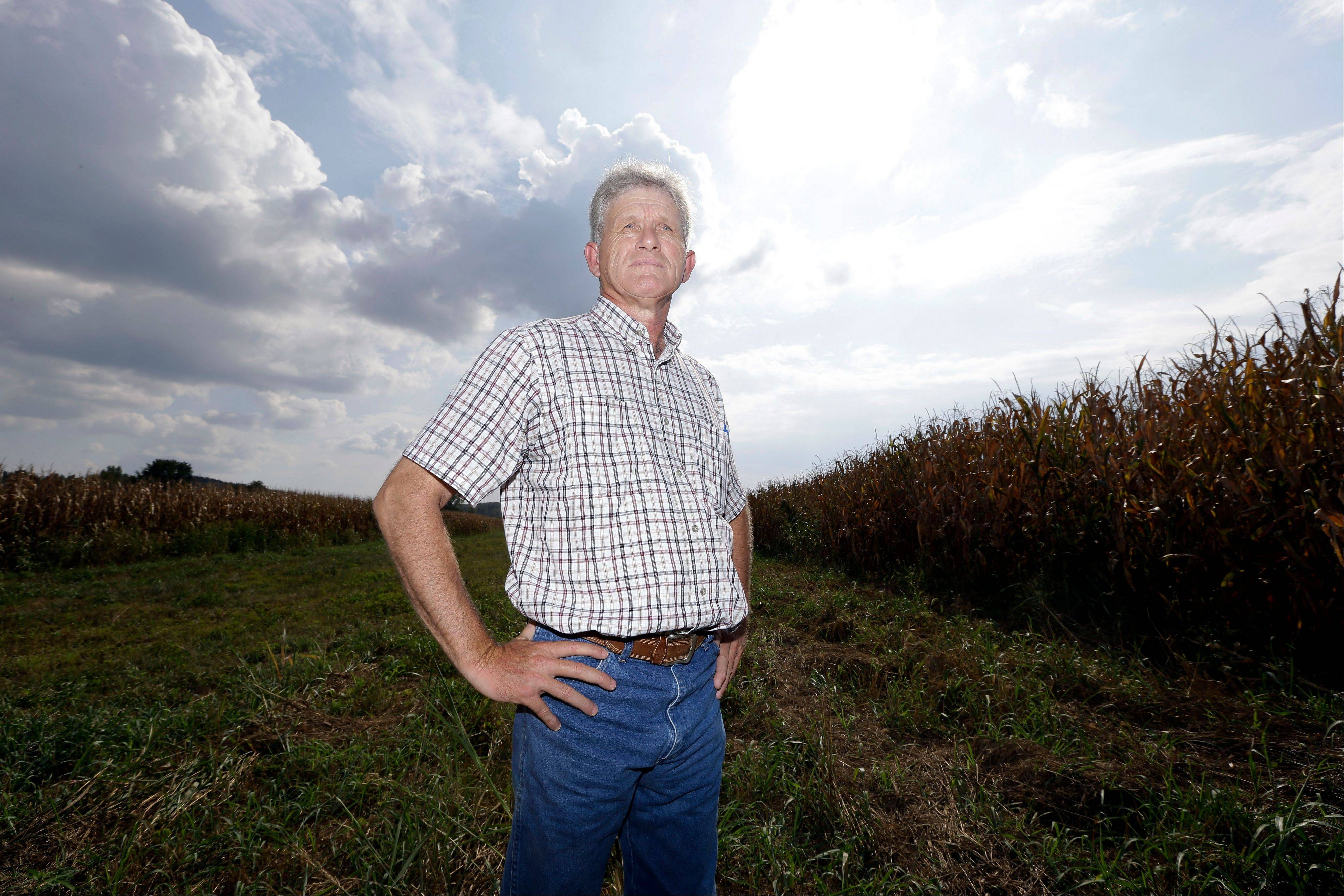 Mark Cansler in a field on his family farm near Hopkinsville, Ky. Cansler expects visitors to fields like his to observe the next total eclipse of the sun visible from the United States on Aug. 21, 2017. The afternoon event will last longer in a rural stretch near Hopkinsville than any place on the planet.