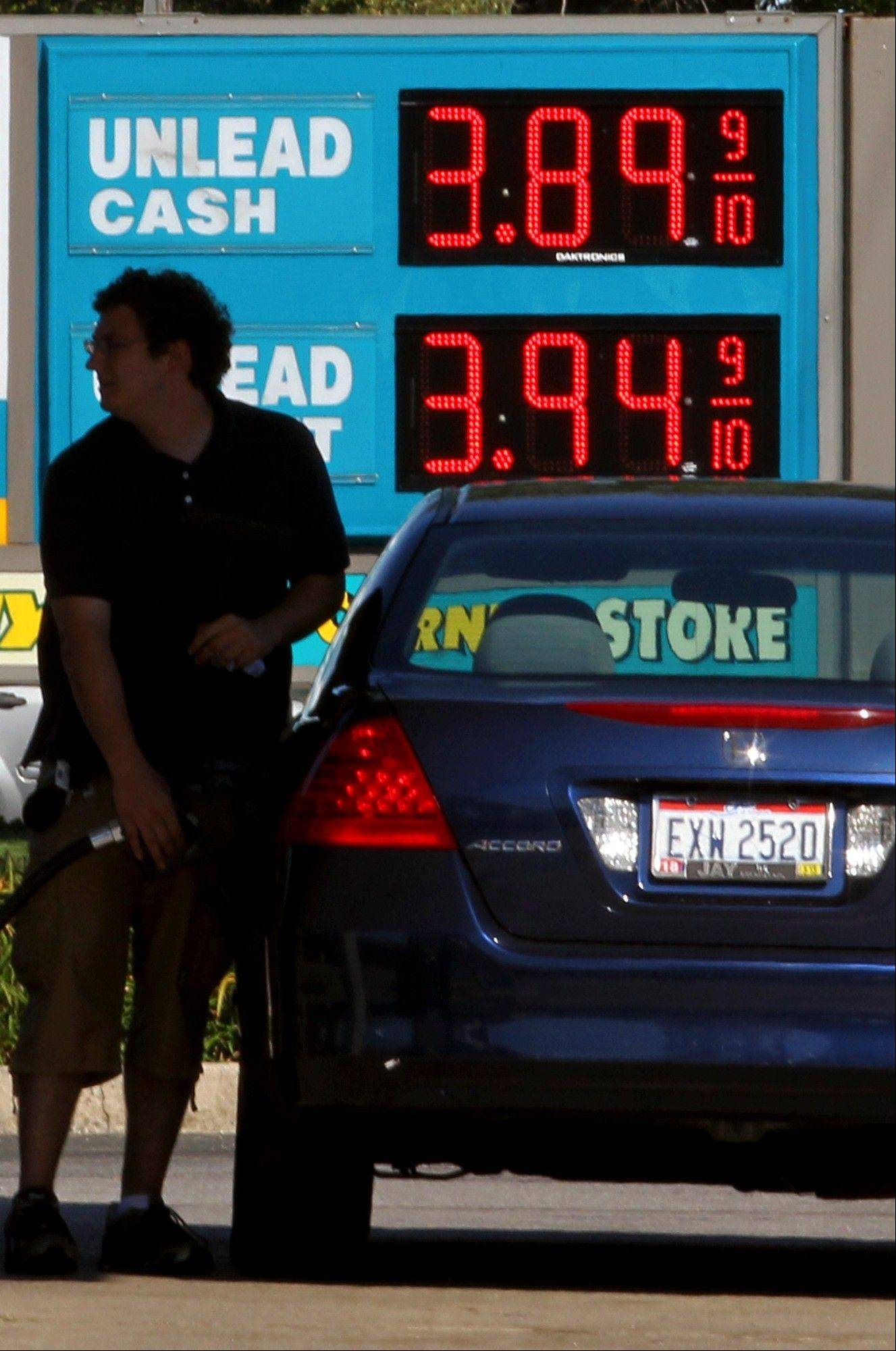 Drivers faced high gasoline prices this past holiday weekend.