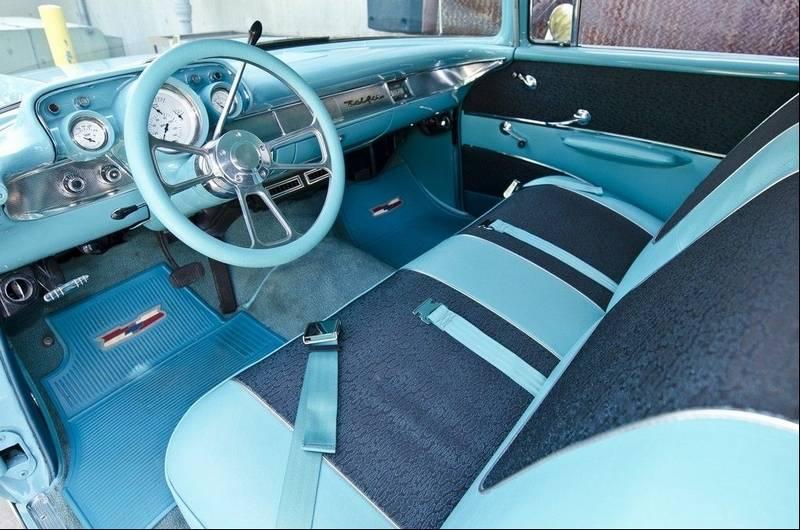palatine man customizes 1957 chevrolet 210 wagon. Black Bedroom Furniture Sets. Home Design Ideas