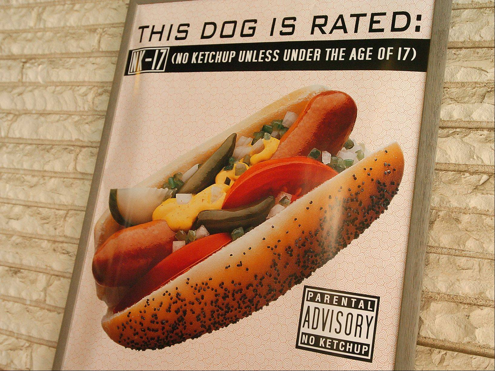 Hot dogs and other sausages are featured at Campbell Street Hot Dogs 'N' More.