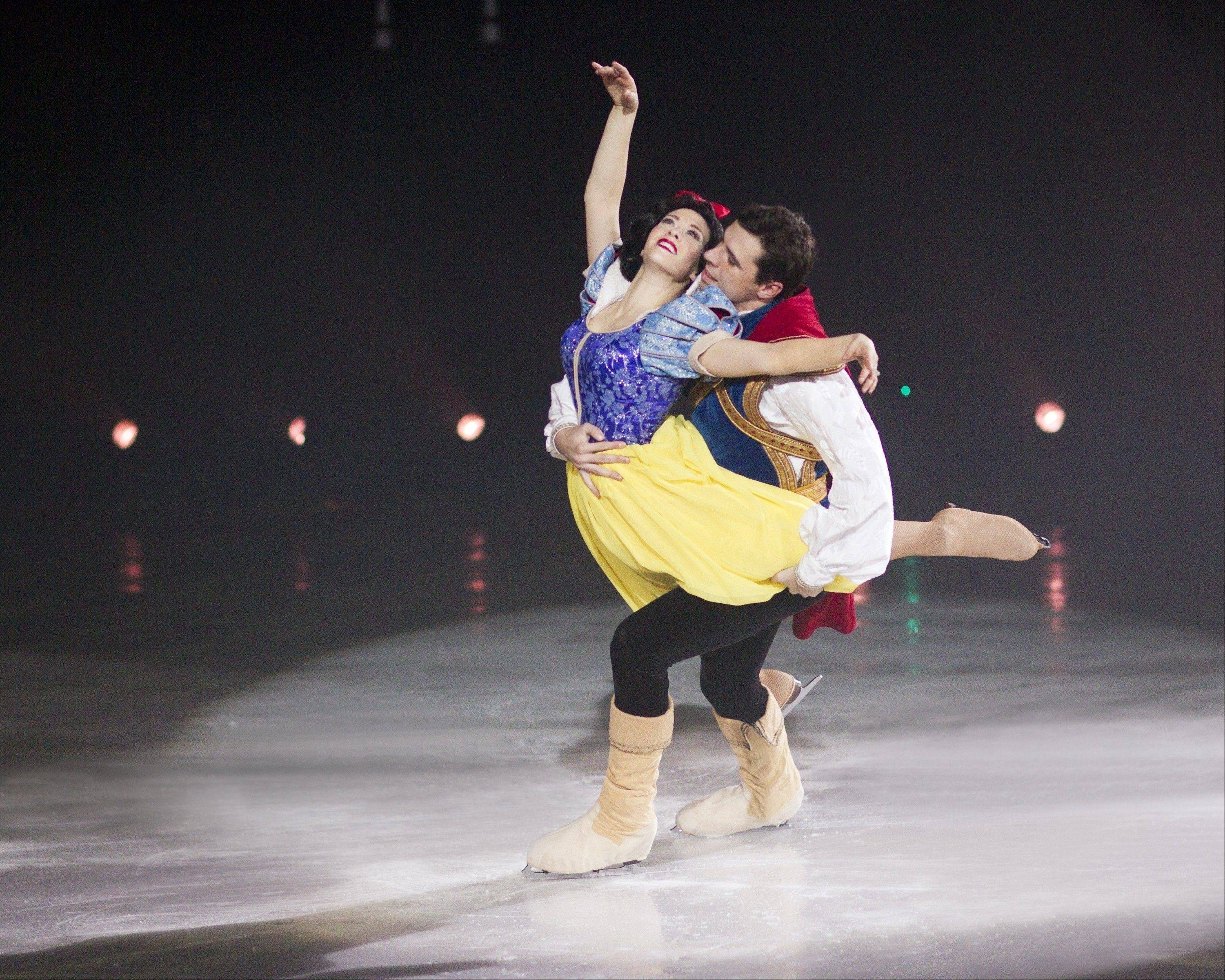 "The 1937 Disney animated film ""Snow White and the Seven Dwarfs"" is brought to life as part of the touring arena show called Disney On Ice presents ""Treasure Trove,"" coming to the Allstate Arena in Rosemont from Thursday to Sunday, Sept. 13-16."