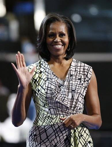 First lady Michelle Obama will speak tonight at the Democratic National Convntion.