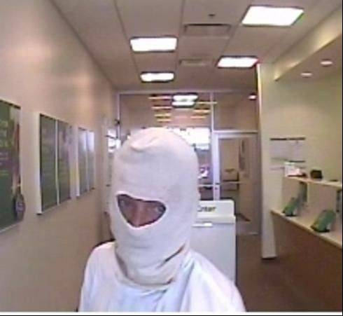Police are asking for the public's help locating a man who robbed a McHenry Charter One Bank Tuesday afternoon.