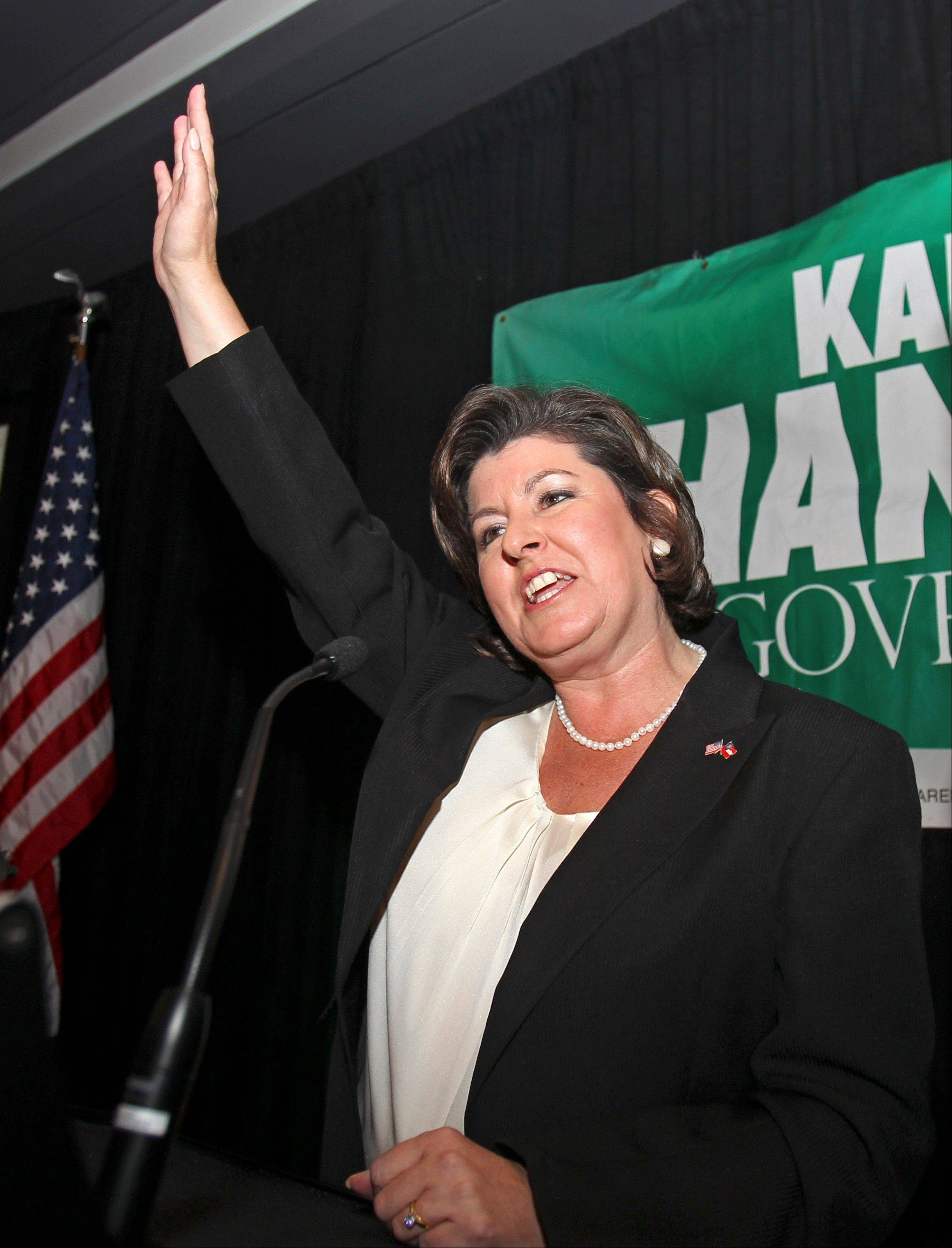 Karen Handel, seen above as Georgia gubernatorial candidate in 2010, was a driving force behind Susan G. Komen for the Cure's decision to cut breast-screening grants to Planned Parenthood earlier this year.