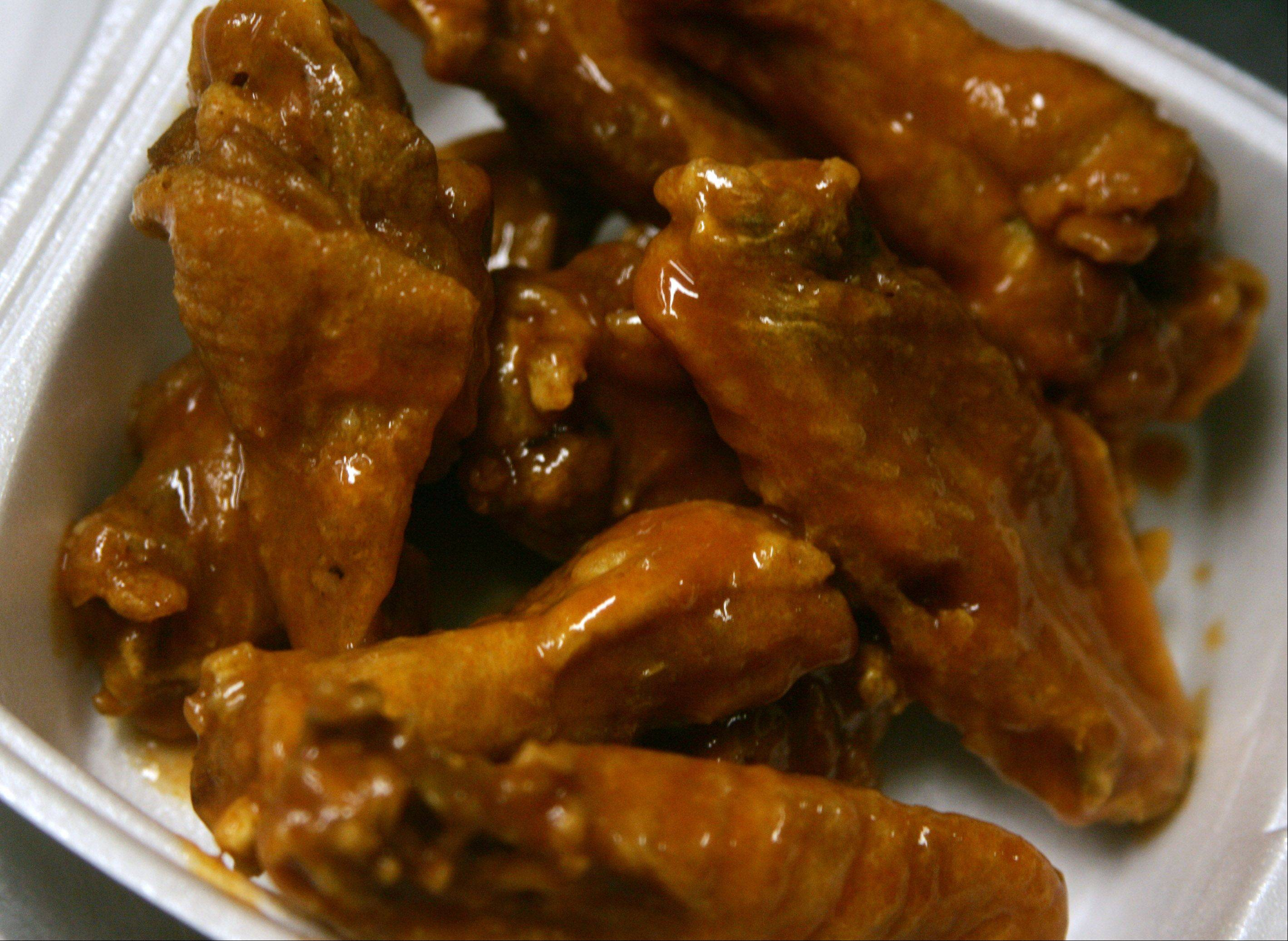 Hot wings from Franks for the Memories in Mundelein. For the second straight year, owner Jim Schultz Jr. has picked up a trophy at the National Buffalo Wing Festival. This time it was second place in the traditional hot category.