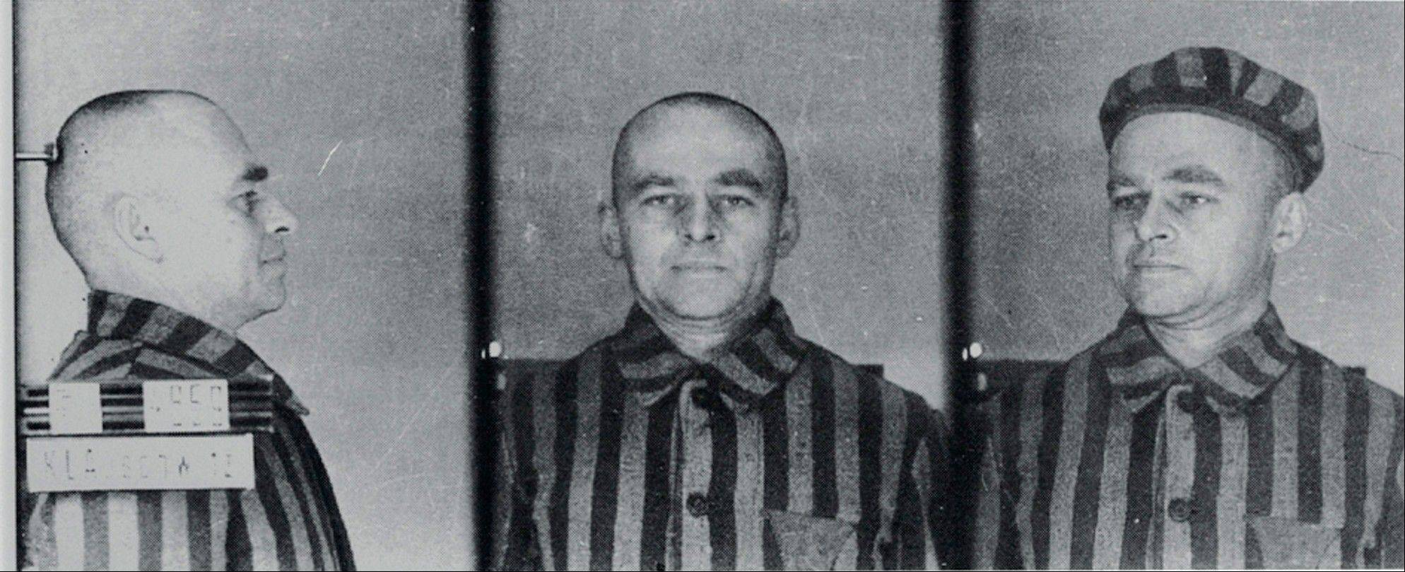 In this 1940 photo provided by the Institute of National Remembrance is seen Witold Pilecki as an inmate of the Auschwitz Birkenau death camp.