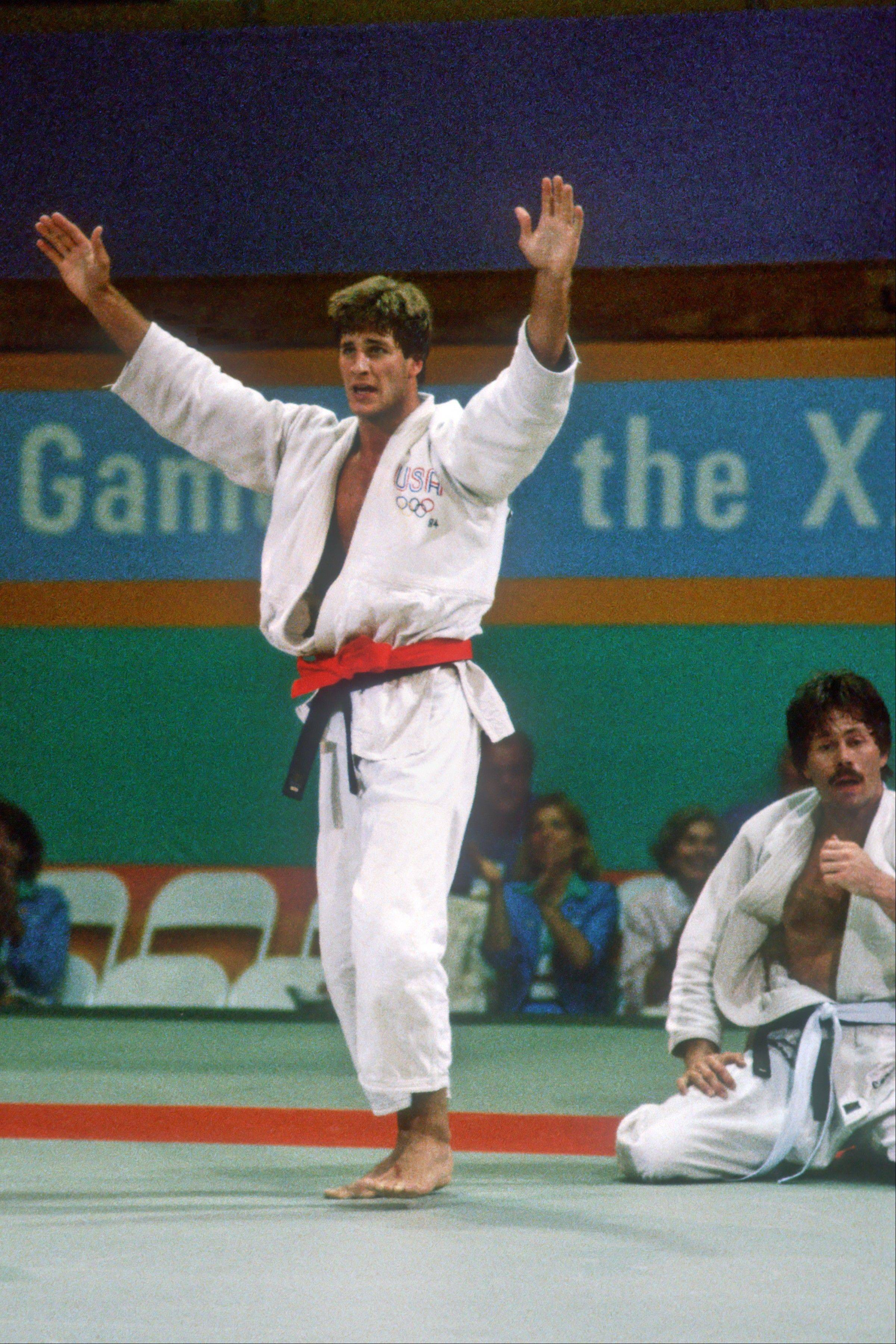 Bob Berland, who won a silver medal in judo for the United State at the 1984 Olympic Games in Los Angeles, will be speaking at the Vernon Area Public Library on Saturday.