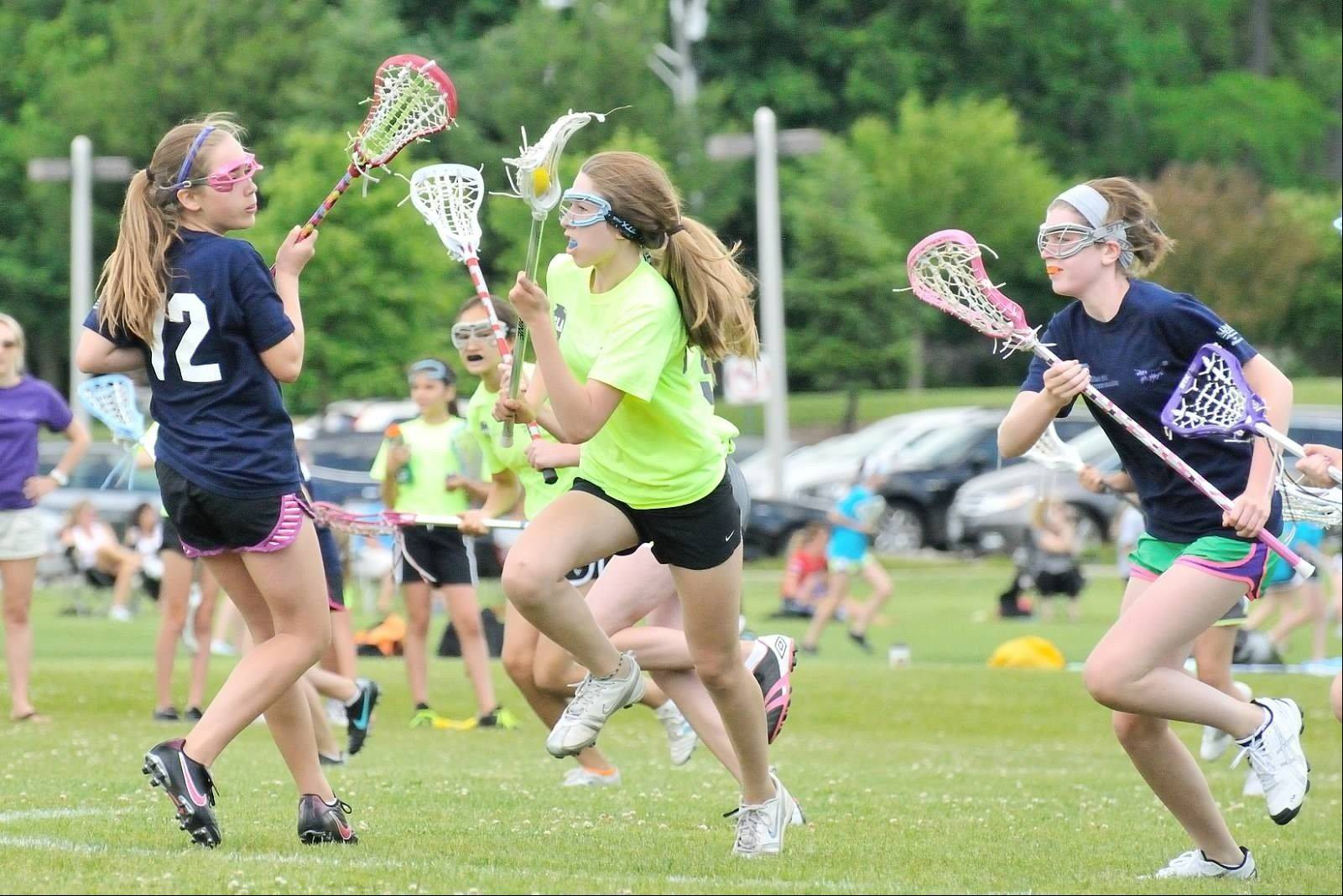 The Illinois Girls Lacrosse Association league begins Sept. 9. Register to participate through the Palatine Park District. For information, visit www.iglax.org.