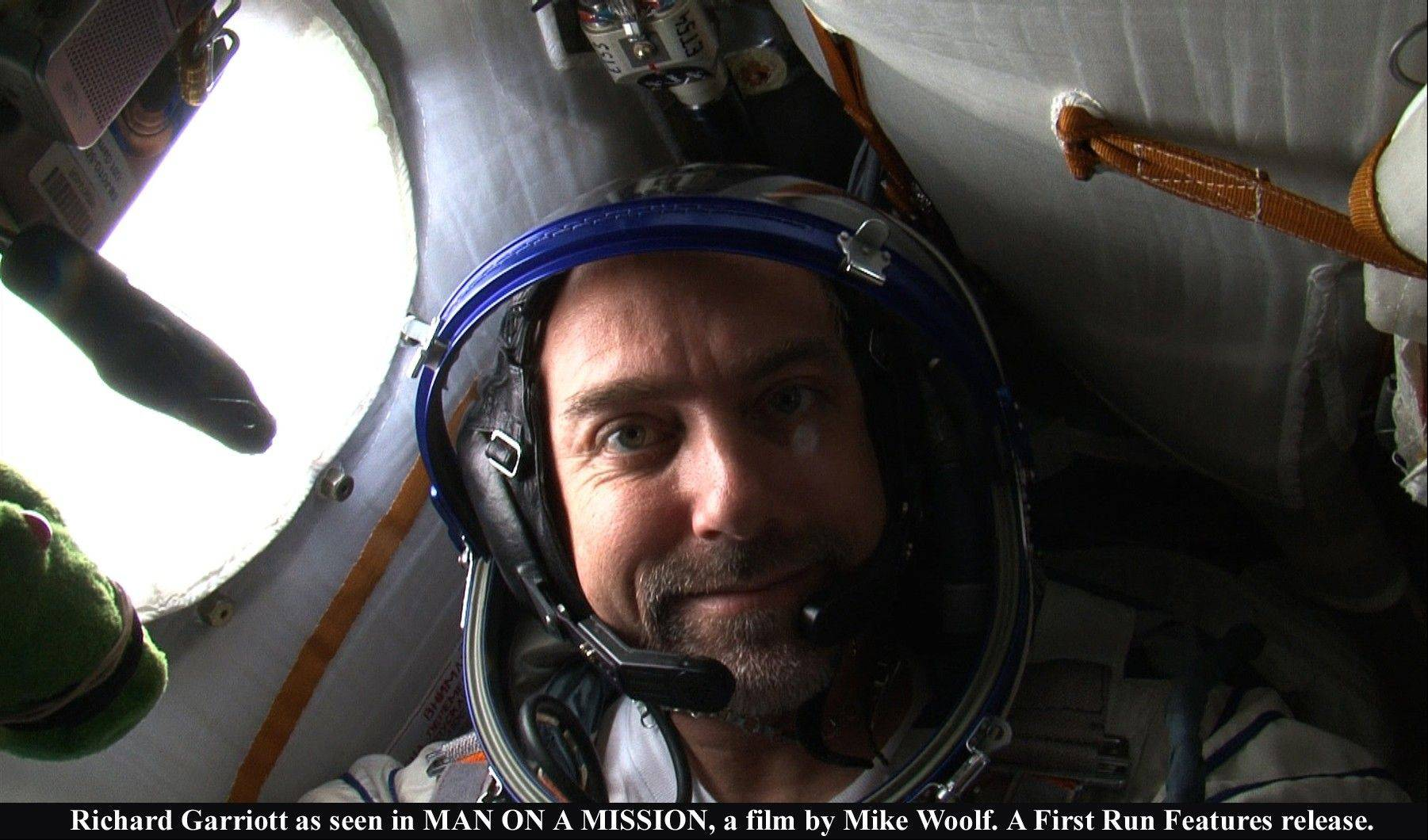 "Richard Garriott as seen in ""Man on a Mission,"" a film by Mike Woolf."