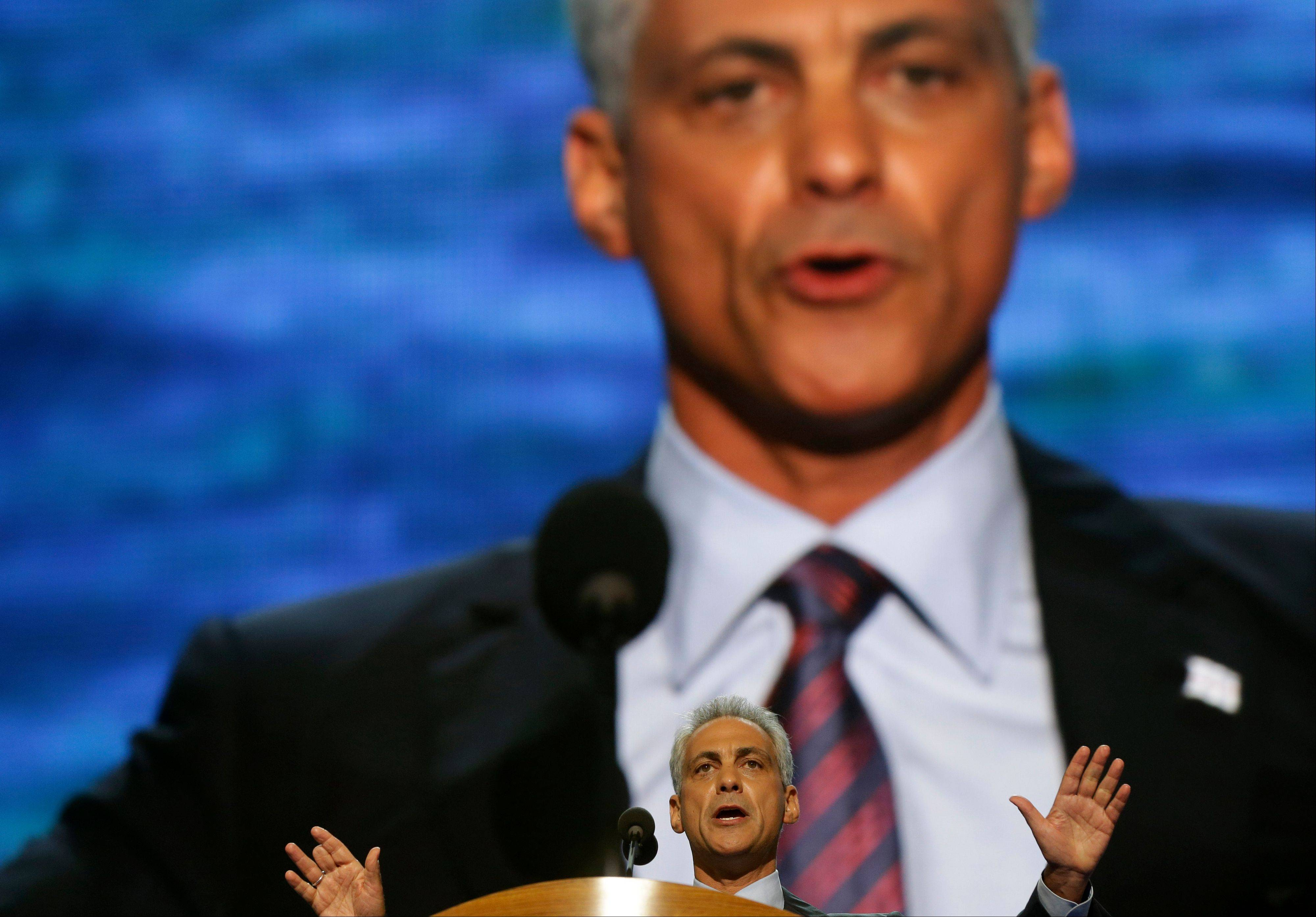 Emanuel: Clinton will offer clear vision for Dems