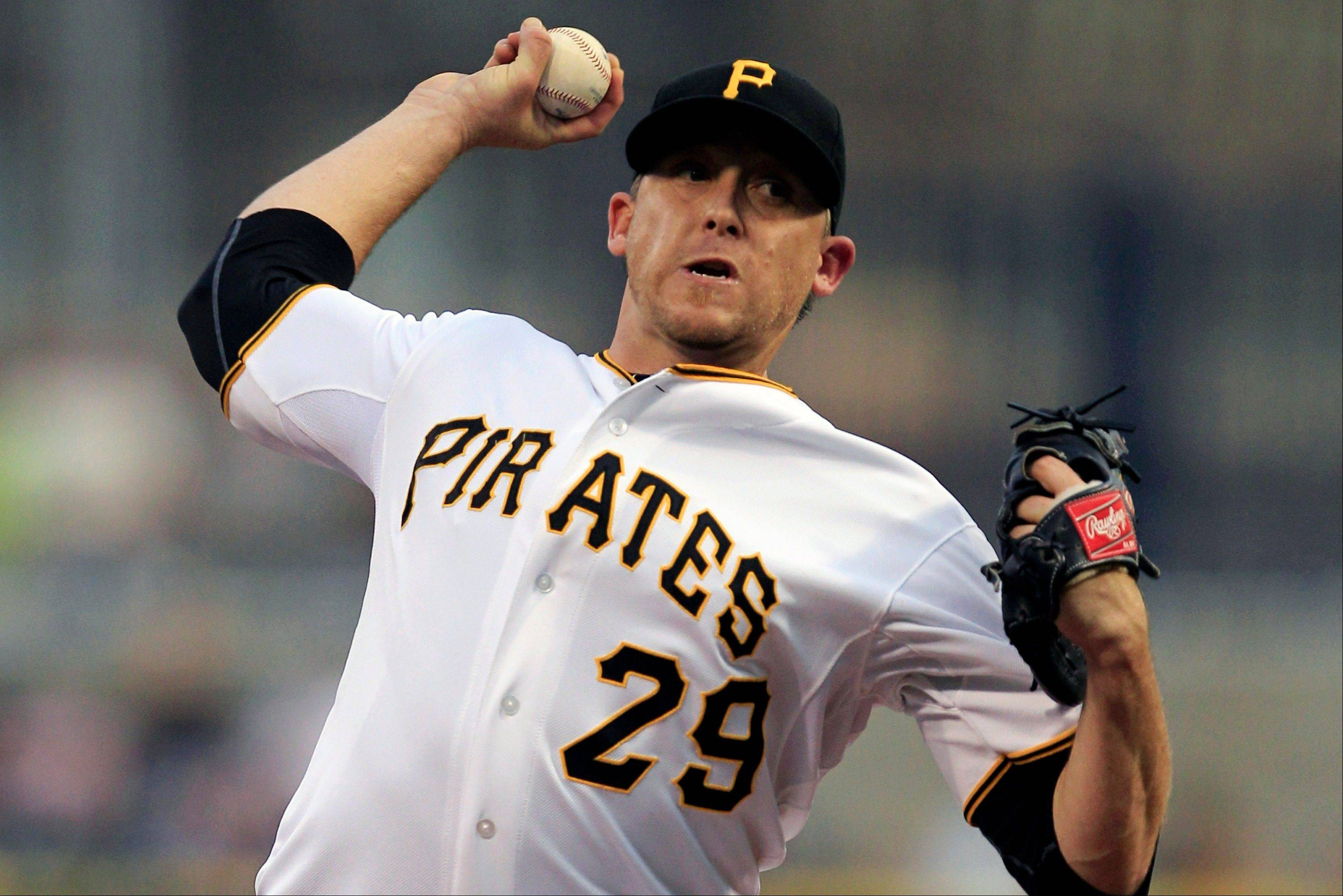 Pittsburgh Pirates starting pitcher Kevin Correia allowed just one run and four hits Wednesday against Houston.