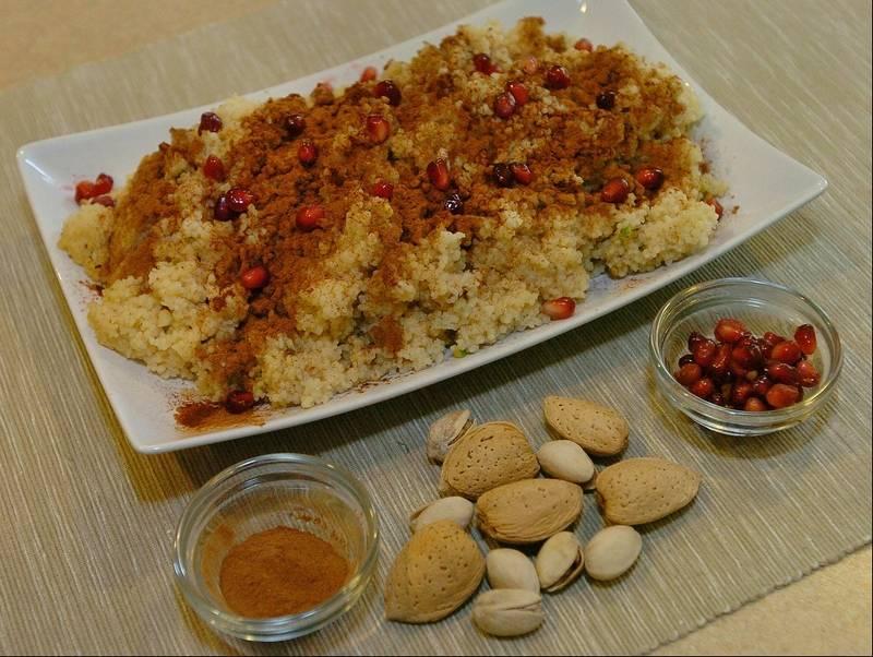 ... pistachios sweet couscous sweet couscous with pistachios pearl