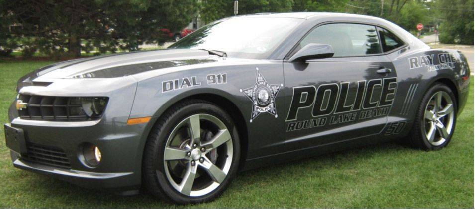 Round Lake Beach Police hope this donated Chevrolet Camaro squad car will help them build new bridges with the community.