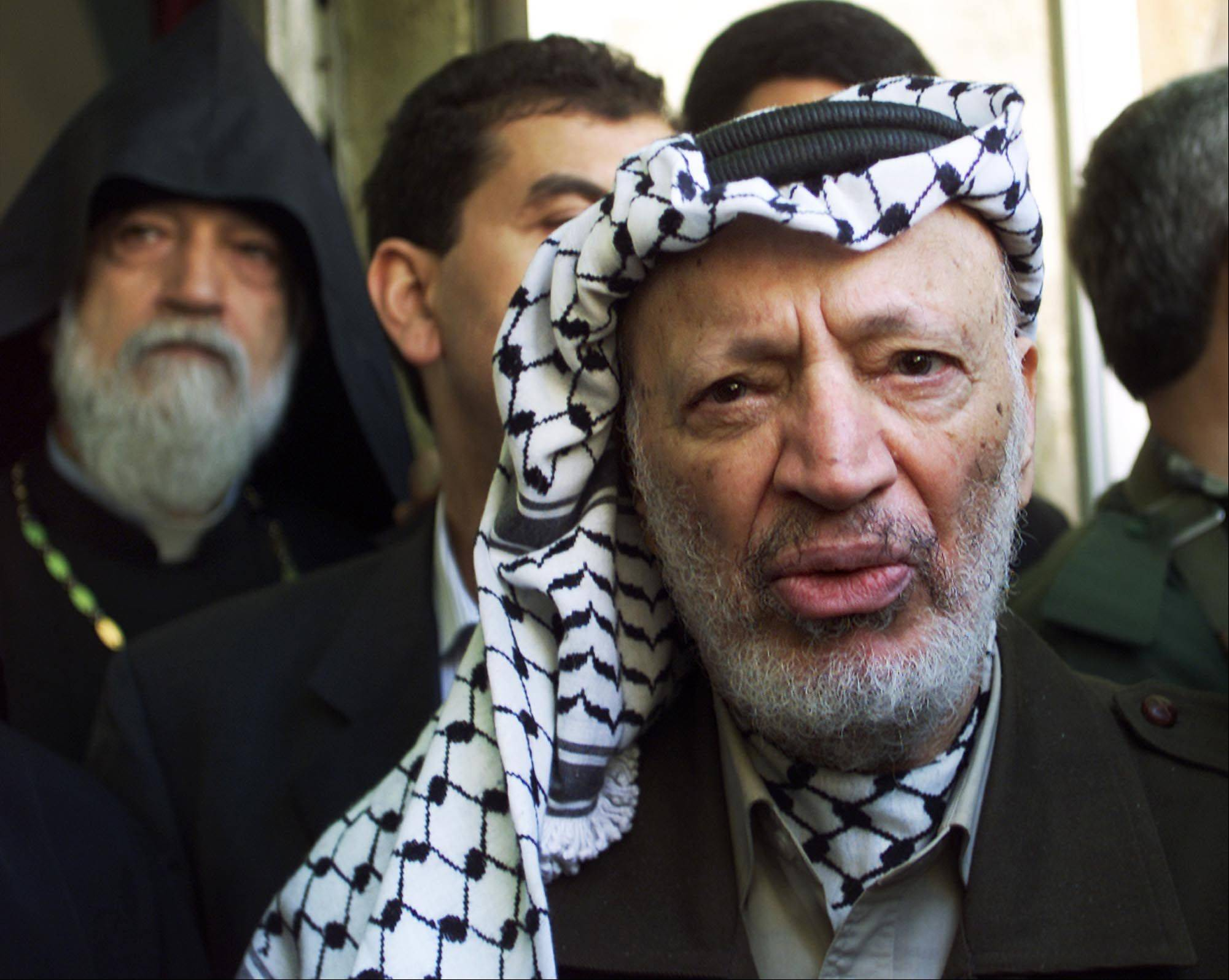 The remains of Palestinian leader Yasser Arafat will be exhumed for examination of foul play, his widow said Wednesday.