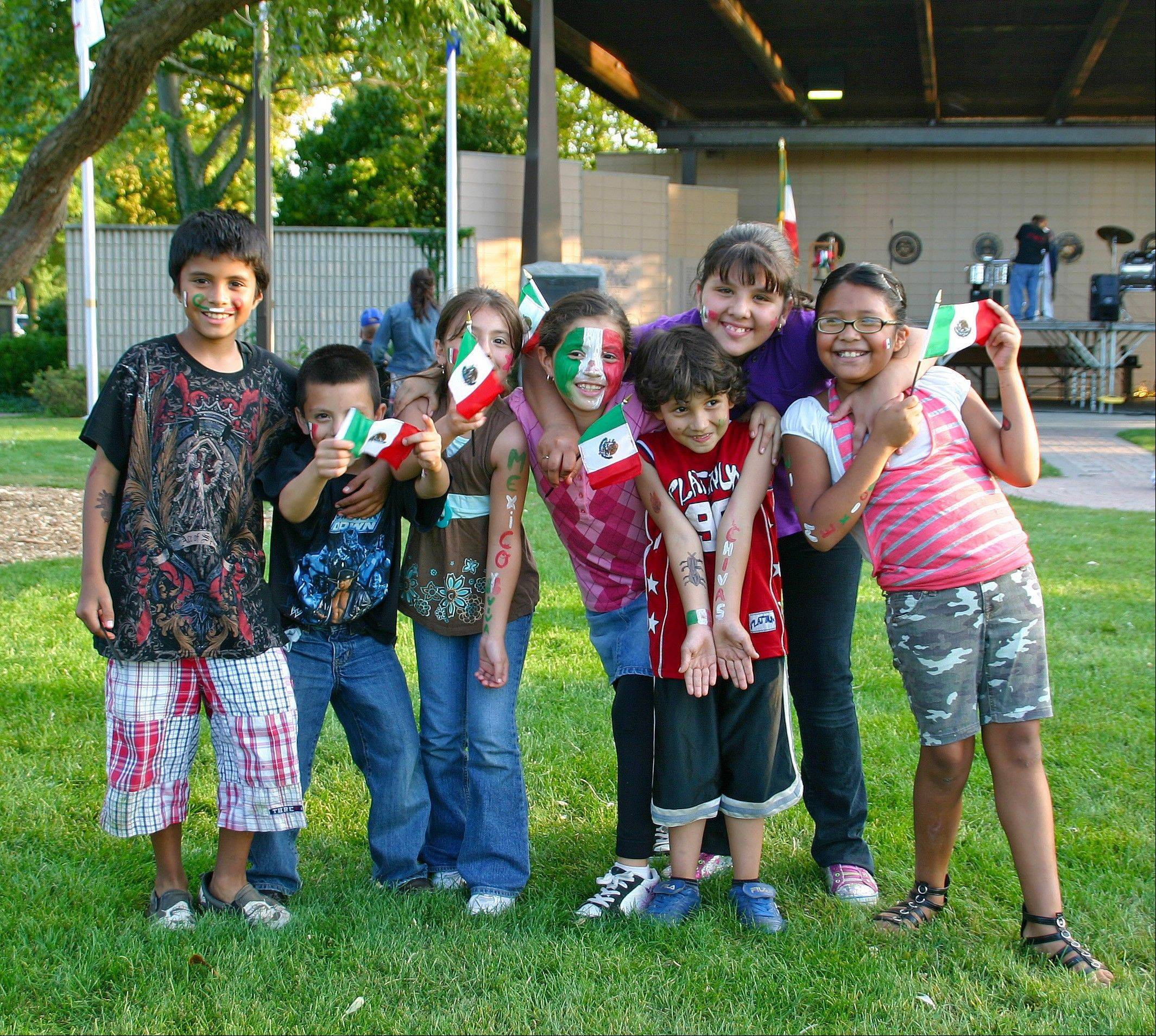 Kids show their spirit at last year's Festival!