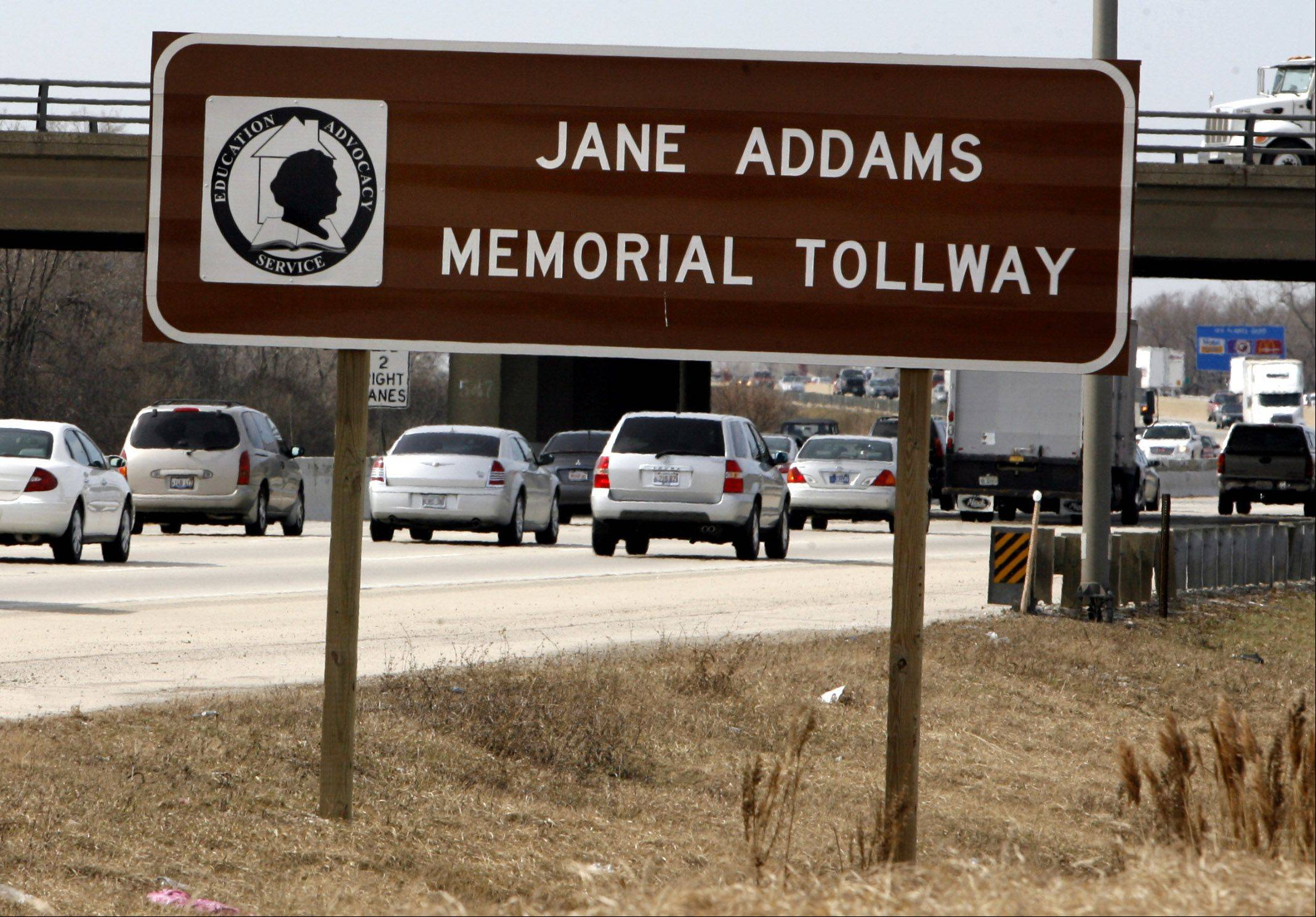 Will we see a Jane Addams Tollway and Railway in the future?