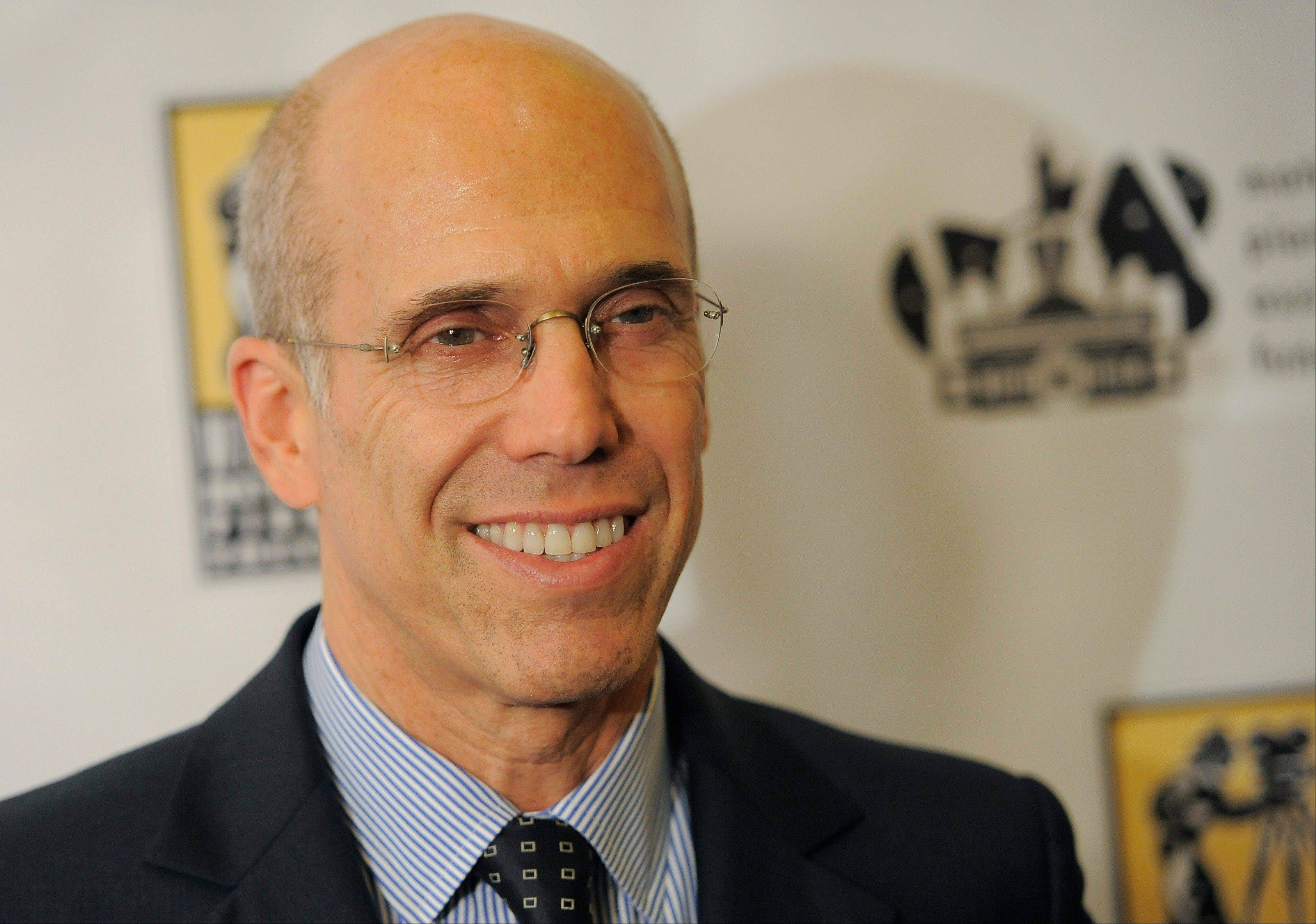 DreamWorks Animation CEO Jeffrey Katzenberg will be honored with the Jean Hersholt Humanitarian Award at the Academy of Motion Picture Arts and Sciences' 4th annual Governors Awards dinner set for Dec. 1.