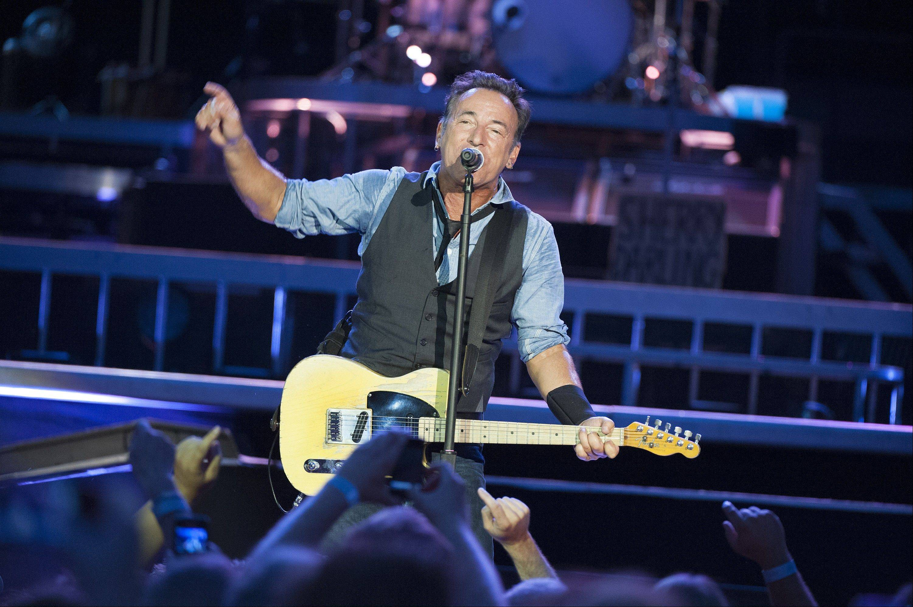 Bruce Springsteen & The E Street Band will play two sold-out shows at Wrigley Field this weekend.