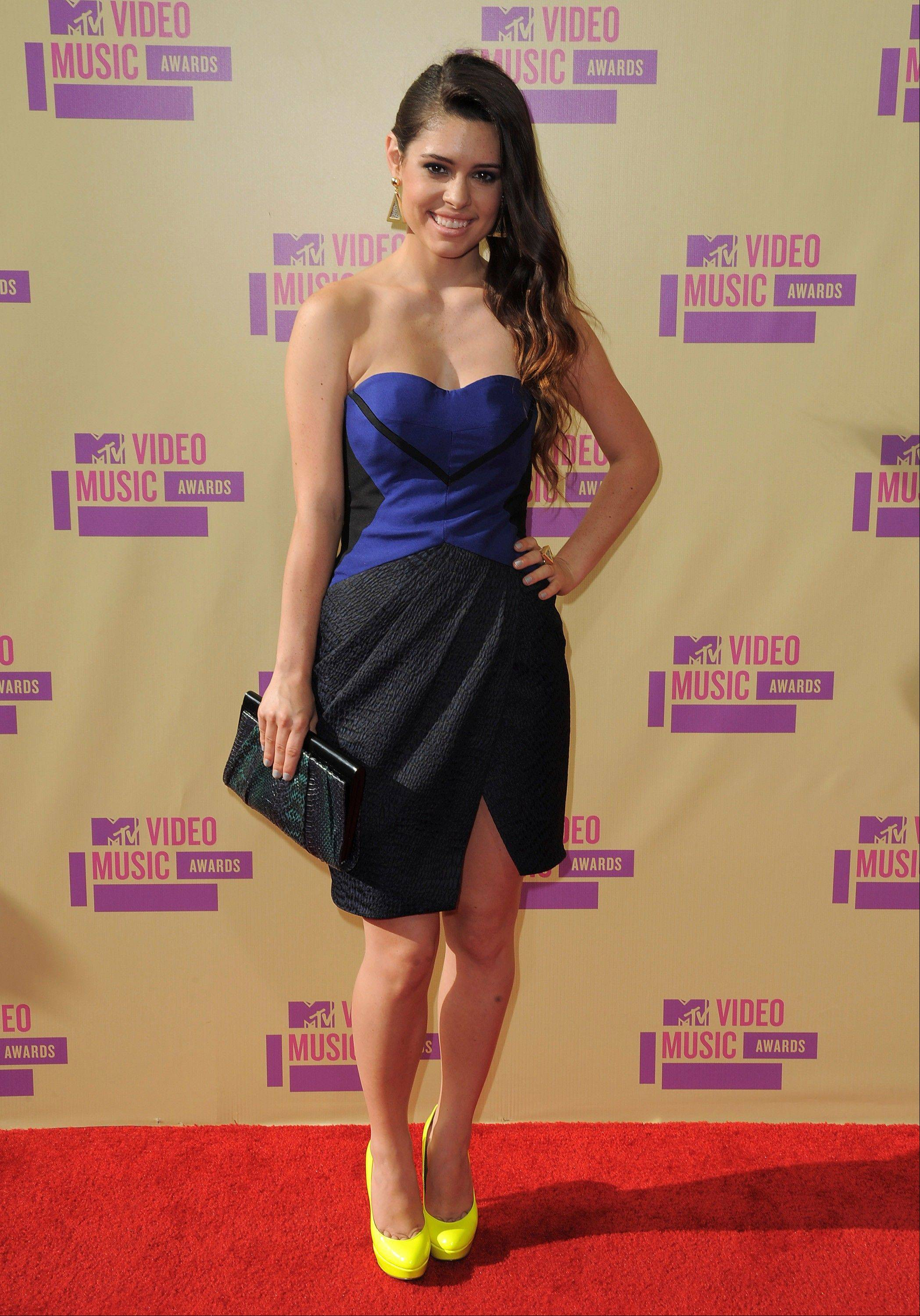Alex Frnka attends the MTV Video Music Awards on Thursday, Sept. 6, 2012, in Los Angeles.