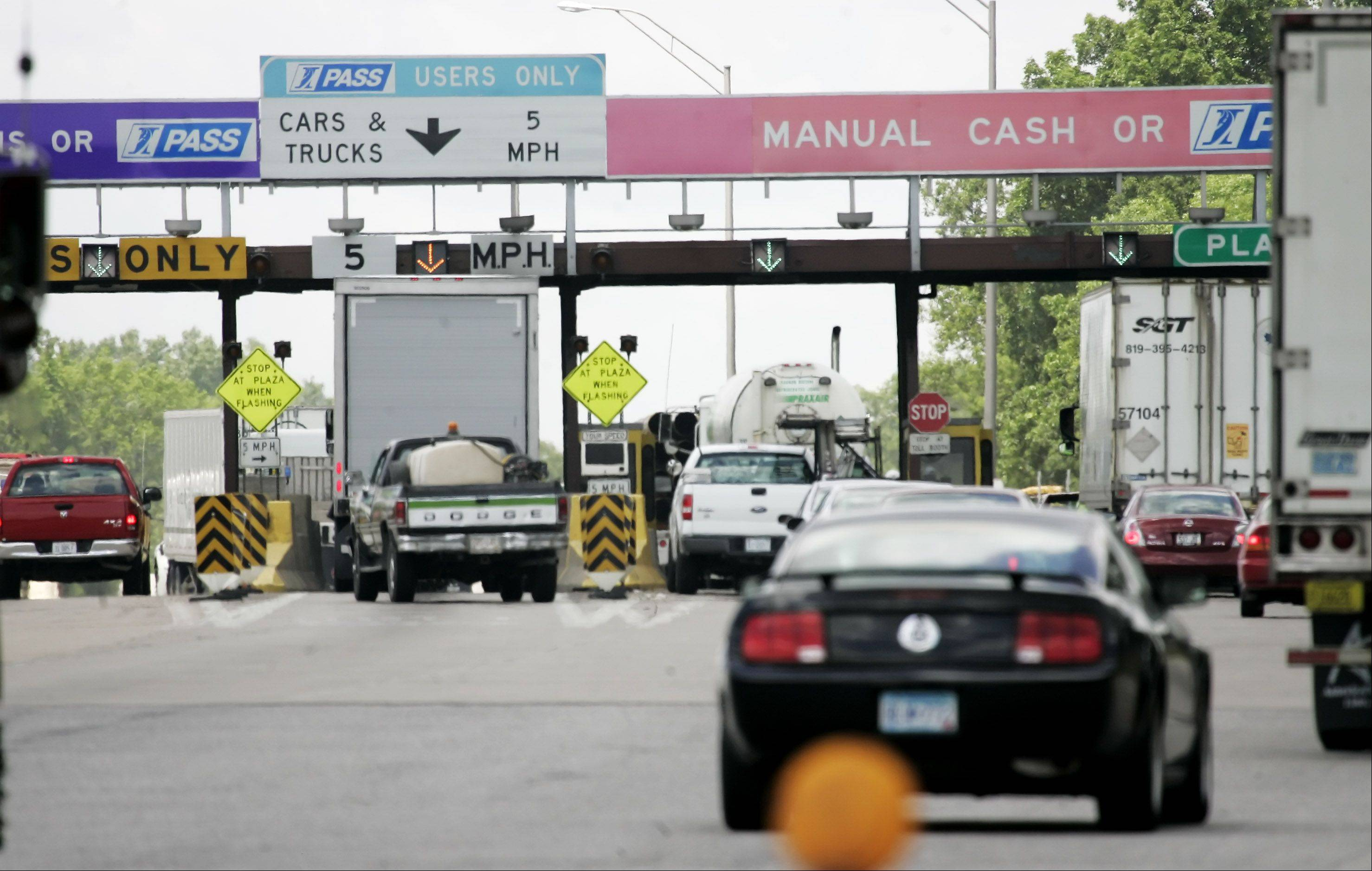 Gilbert R. Boucher II/gboucher@dailyherald.comHave lots of unpaid tolls? The Illinois tollway could be taking you to court.