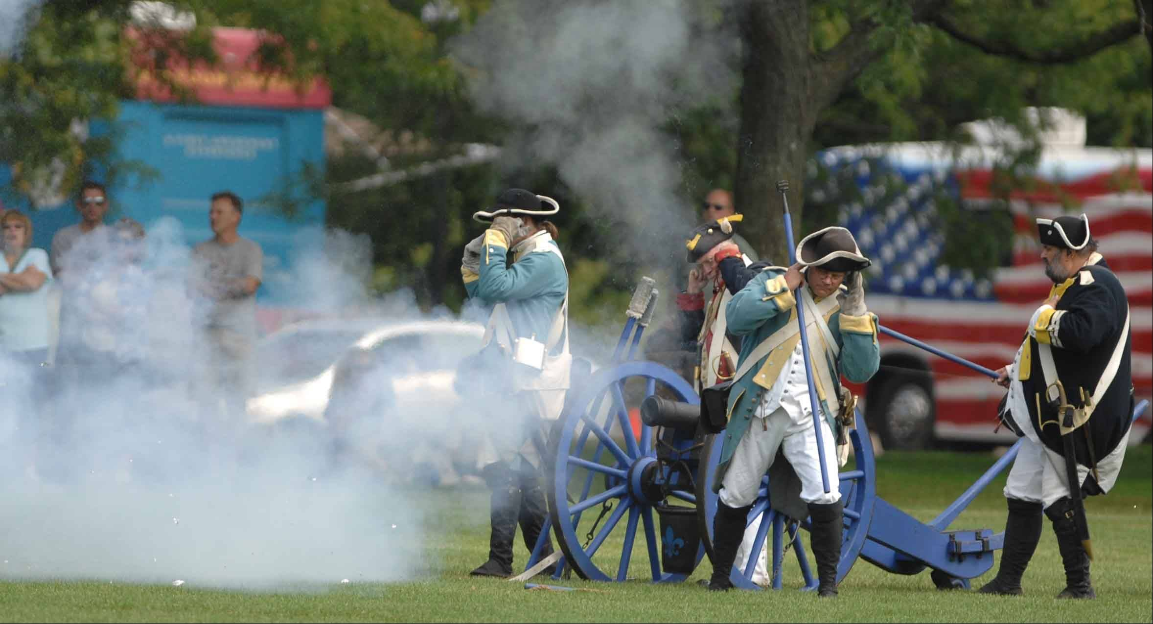 "Visitors should come prepared for the sounds of battle. The canon boasts a loud ""boom"" and is generally a crowd-pleaser."