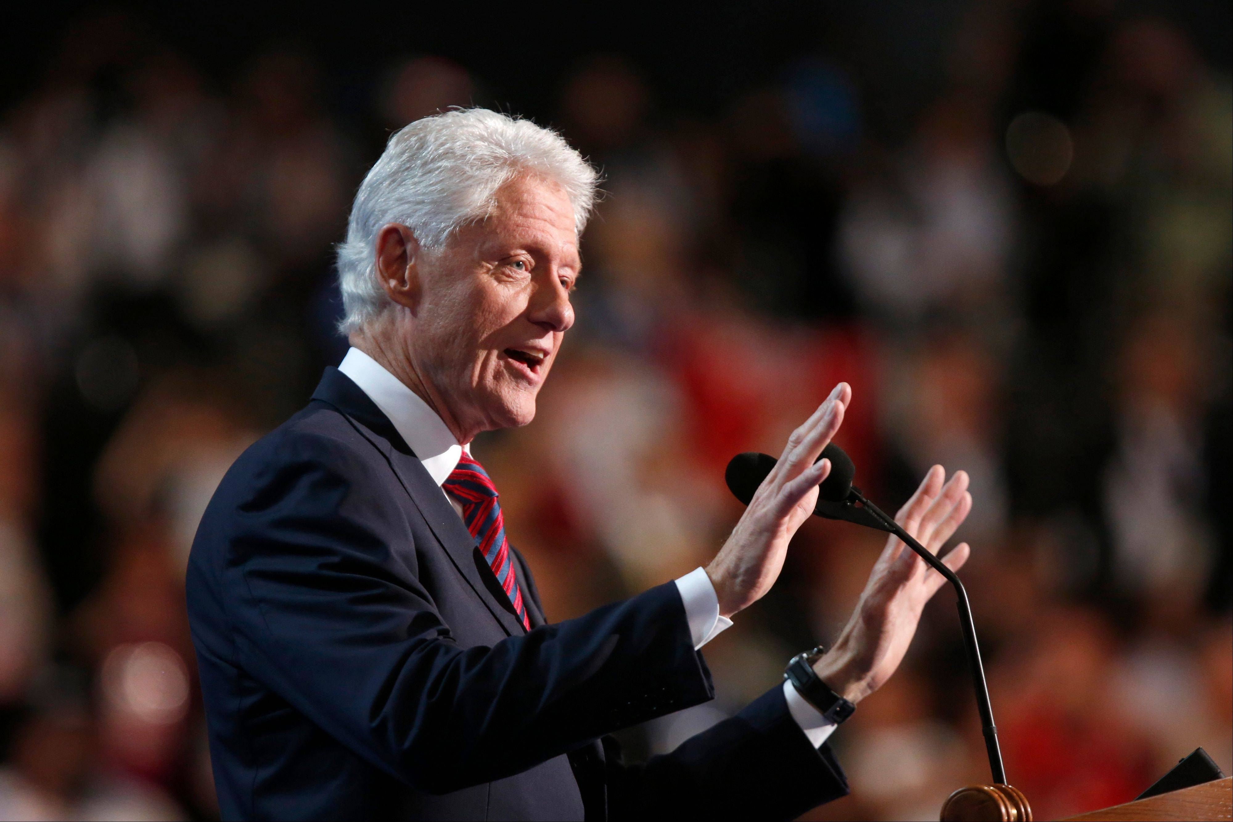 Former President Bill Clinton sounded good Wednesday night in Charlotte, N.C., but was all that he said true?