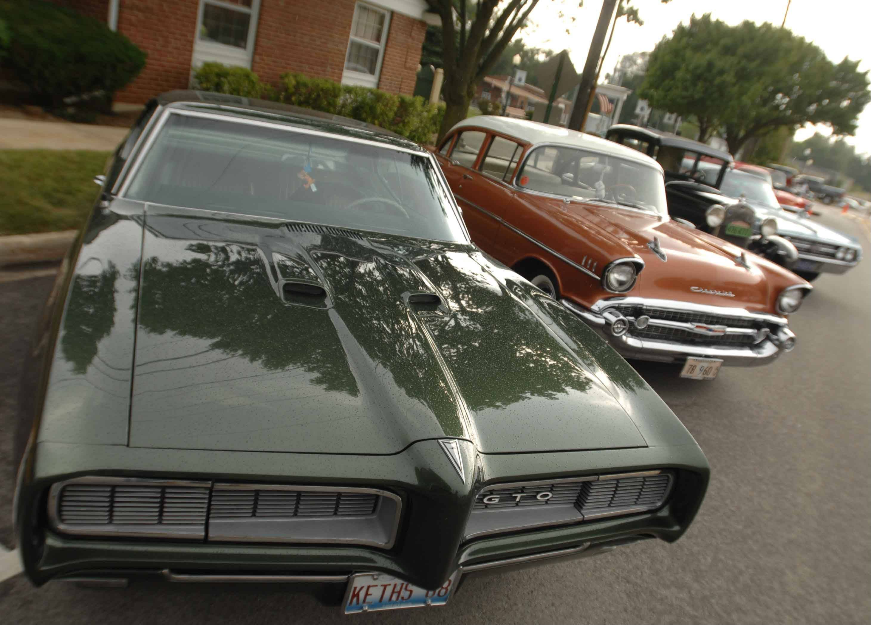 The last Cruzin Winfield car show of the year is scheduled for 5 to 8:30 p.m. Friday during the second night of Winfield's Good Old Days festival.