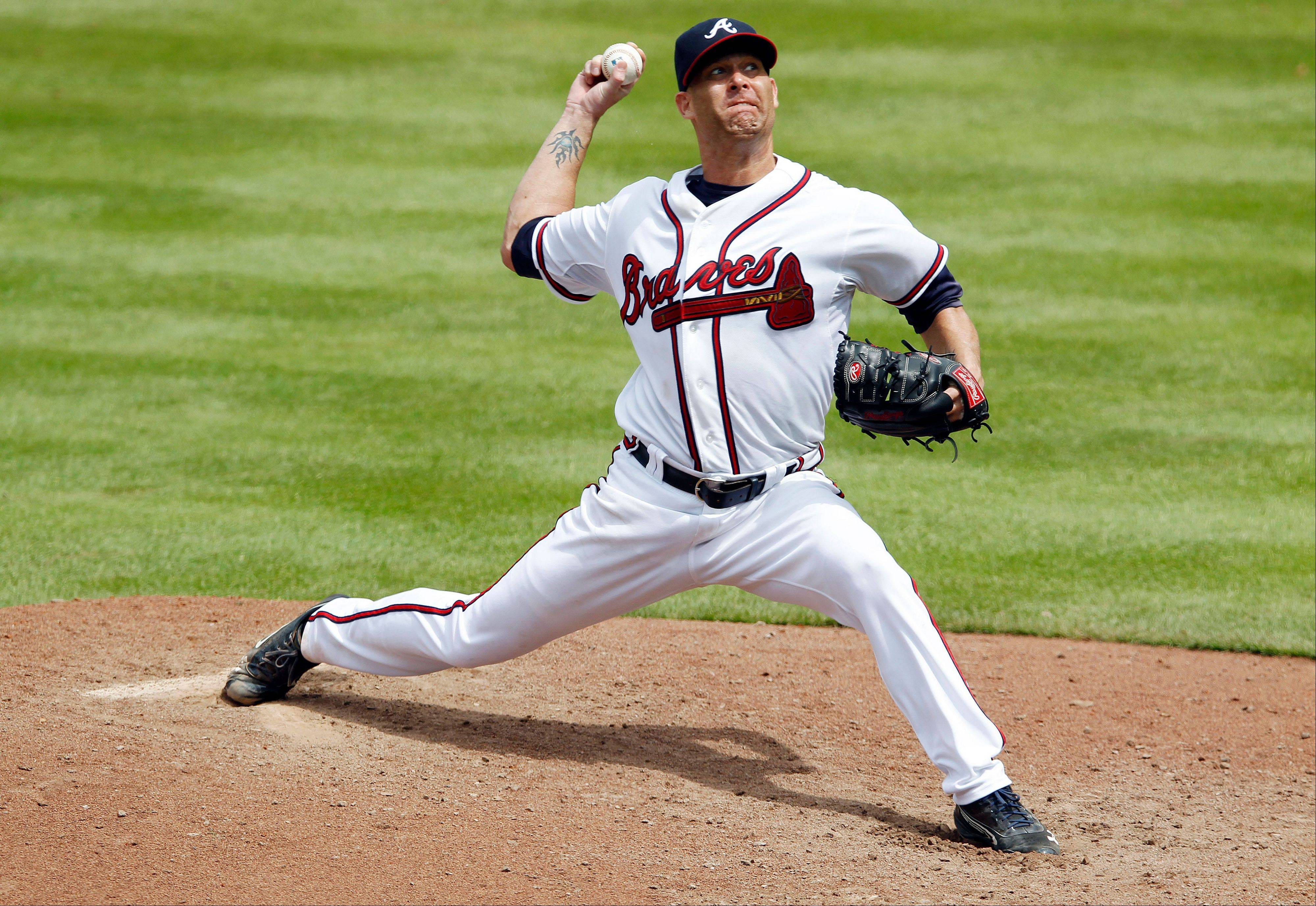 Braves starting pitcher Tim Hudson improved his record to 14-5 with a 1-0 victory Thursday over the Colorado Rockies in Atlanta.