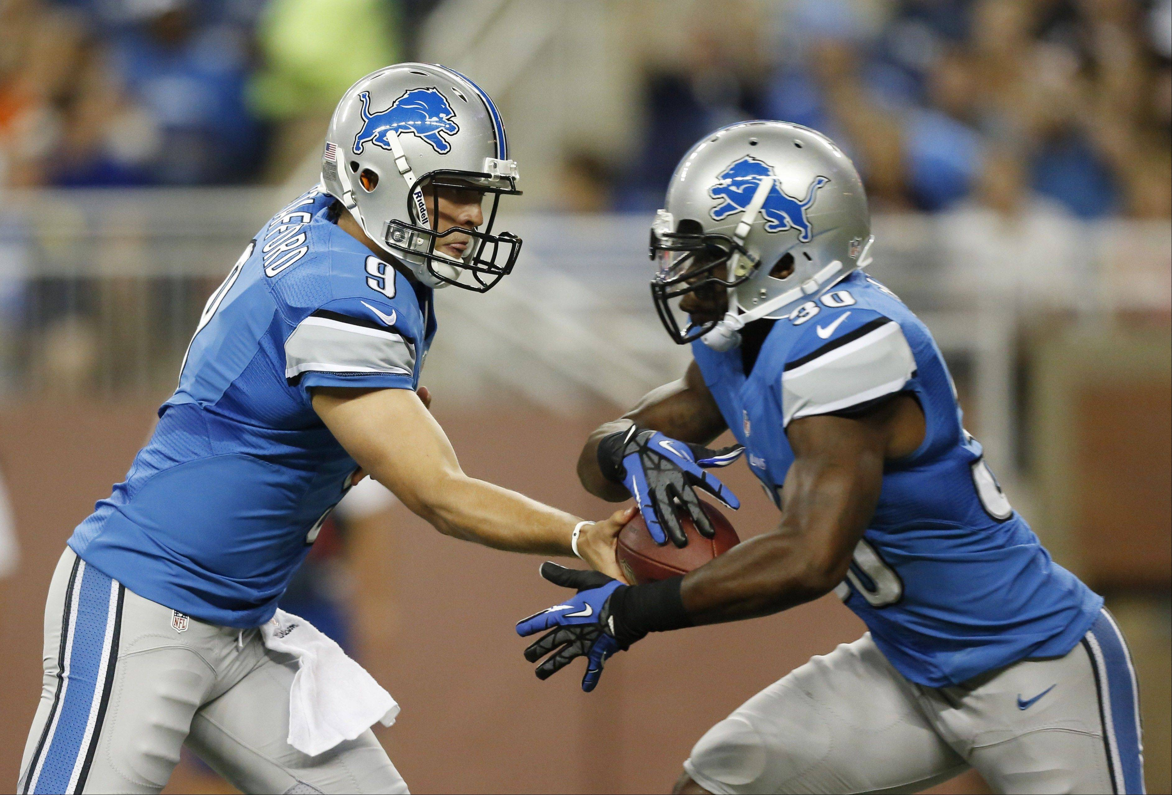 Fantasy football writer John Dietz believes Detroit Lions running back Kevin Smith, right, will have a big game this weekend.