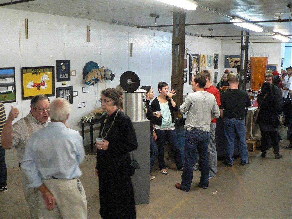 Elgin's Next Wave Art Salon will feature the work of close to 150 artists.