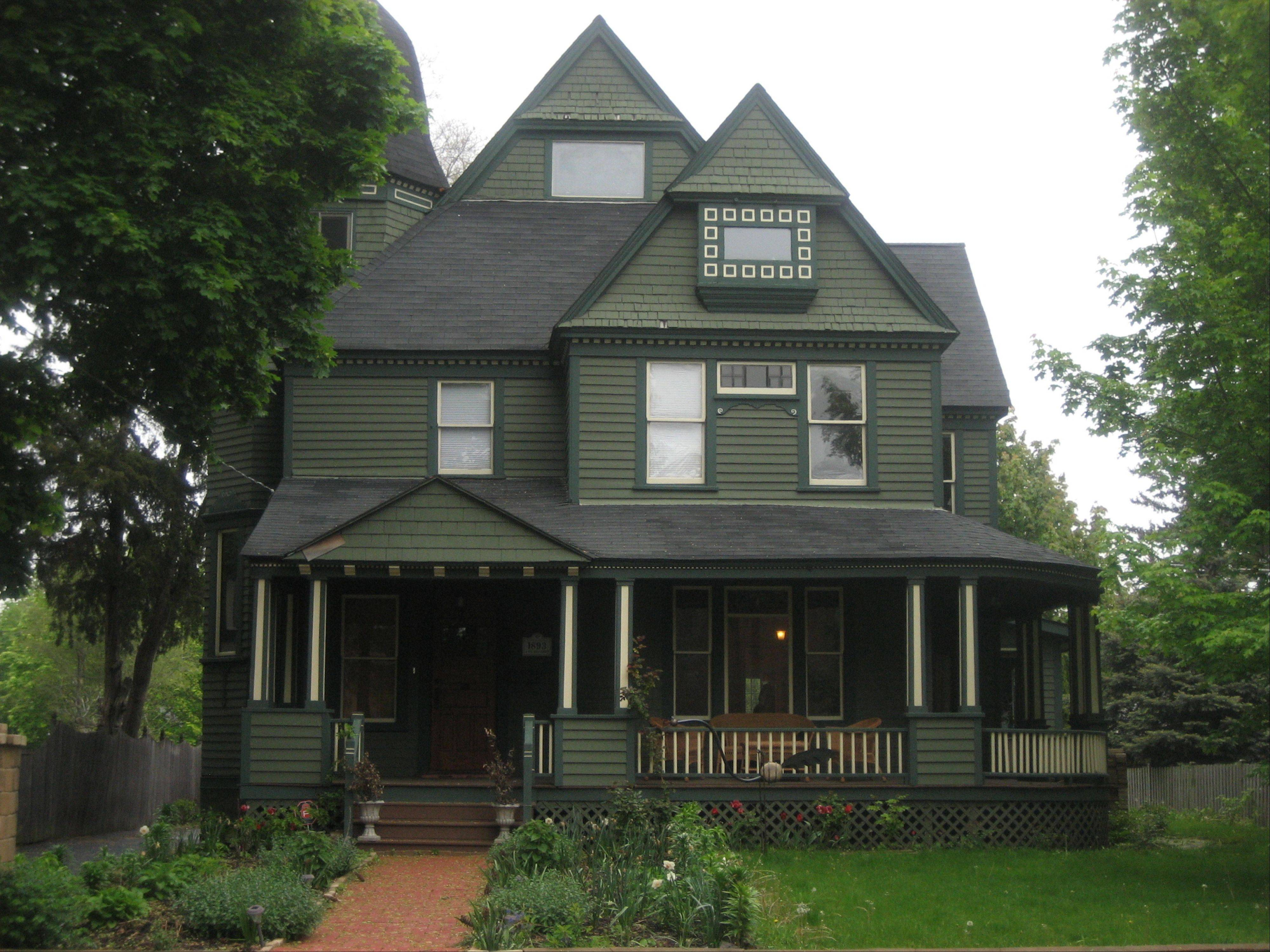 The Queen Anne-style home at 331 Griswold St., built in 1893, was part of the Gifford Park Association�s 31st annual Historic Elgin House tour Saturday.