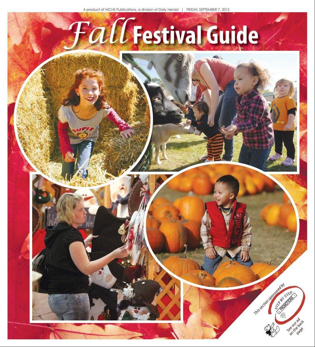 Look for our Fall Festival Guide inside today's Daily Herald.